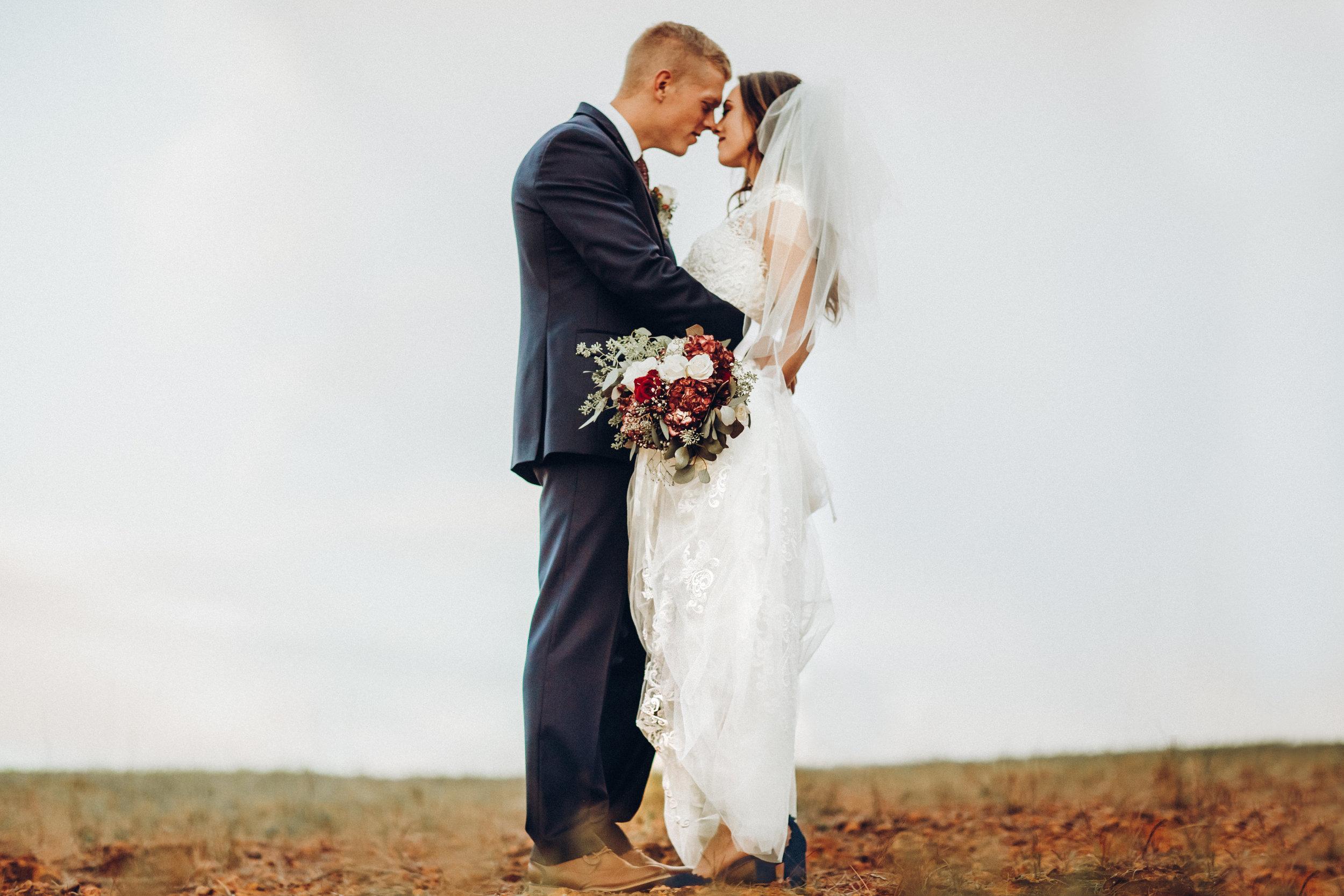7. Bride + Groom -  Romantic Backyard Farm Wedding - Lauren+Daniel 014.jpg