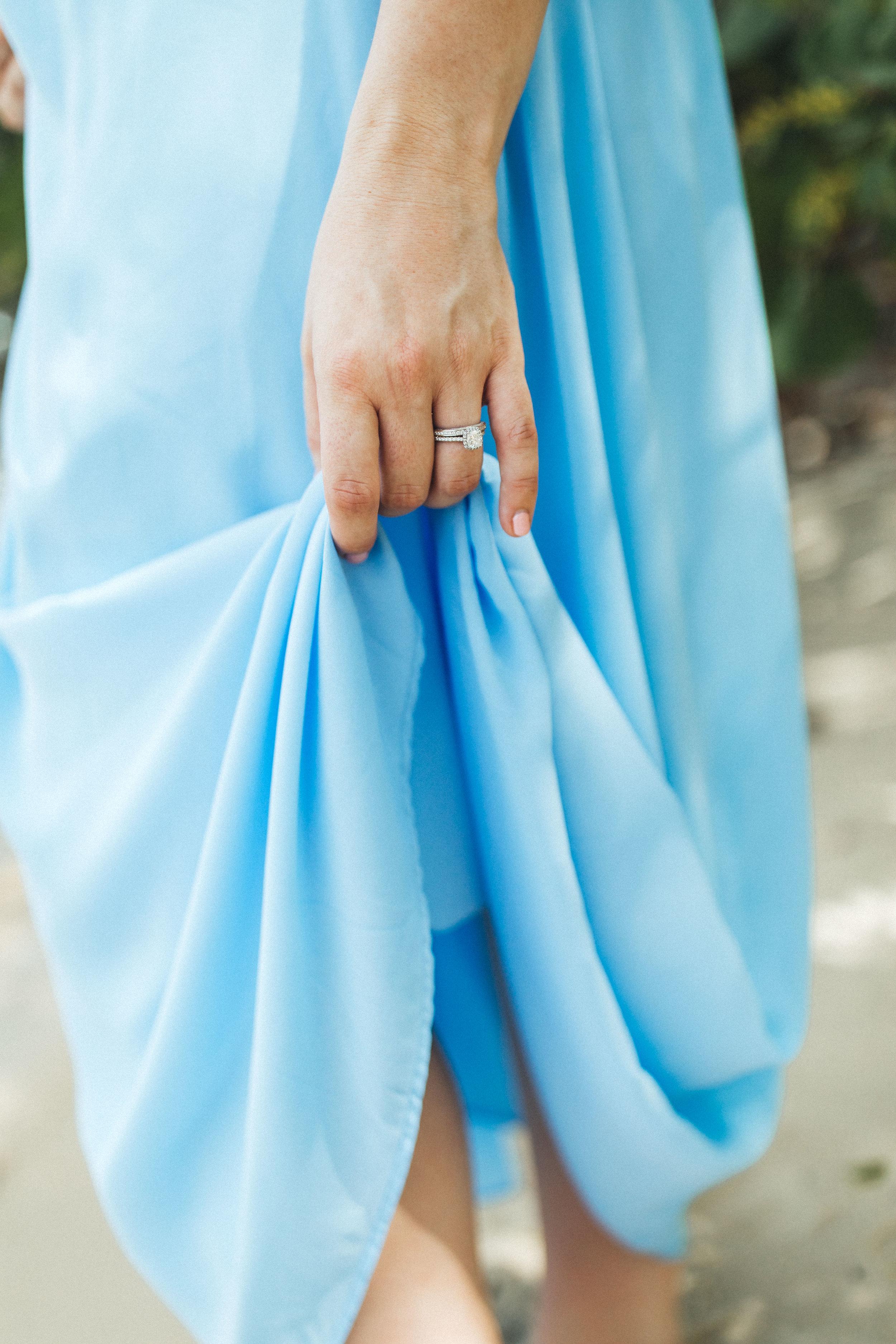 Blue Maternity Dress- Erica + Aaron's Blowing Rock Preserve- Florida Maternity Photos-35.jpg