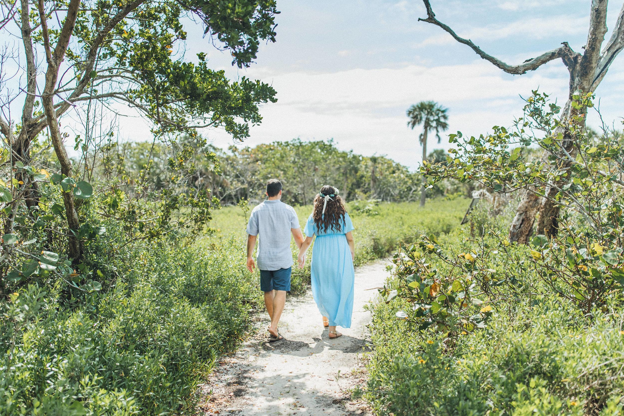 Blue Maternity Dress- Erica + Aaron's Blowing Rock Preserve- Florida Maternity Photos-44.jpg