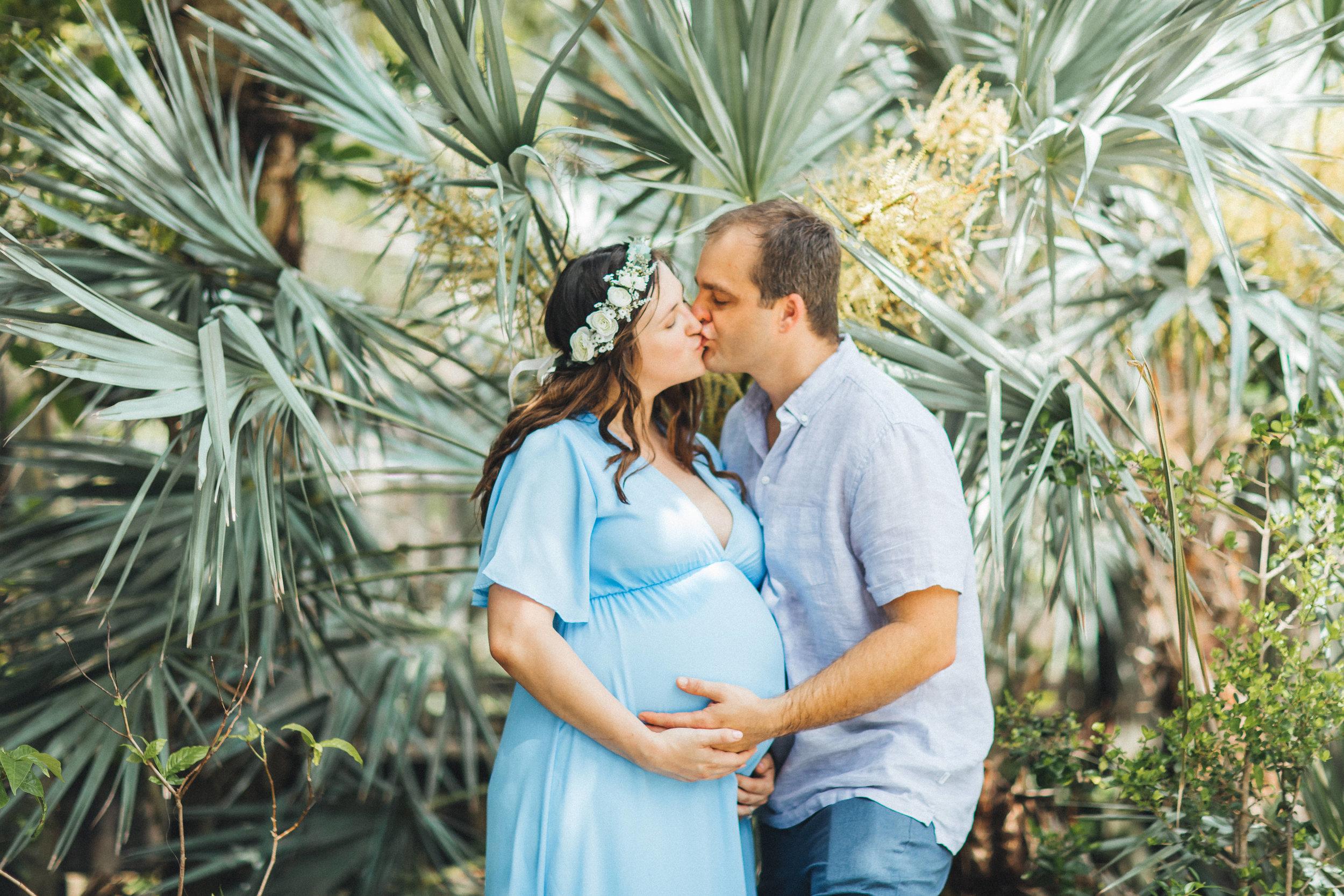 Blue Maternity Dress- Erica + Aaron's Blowing Rock Preserve- Florida Maternity Photos-100.jpg