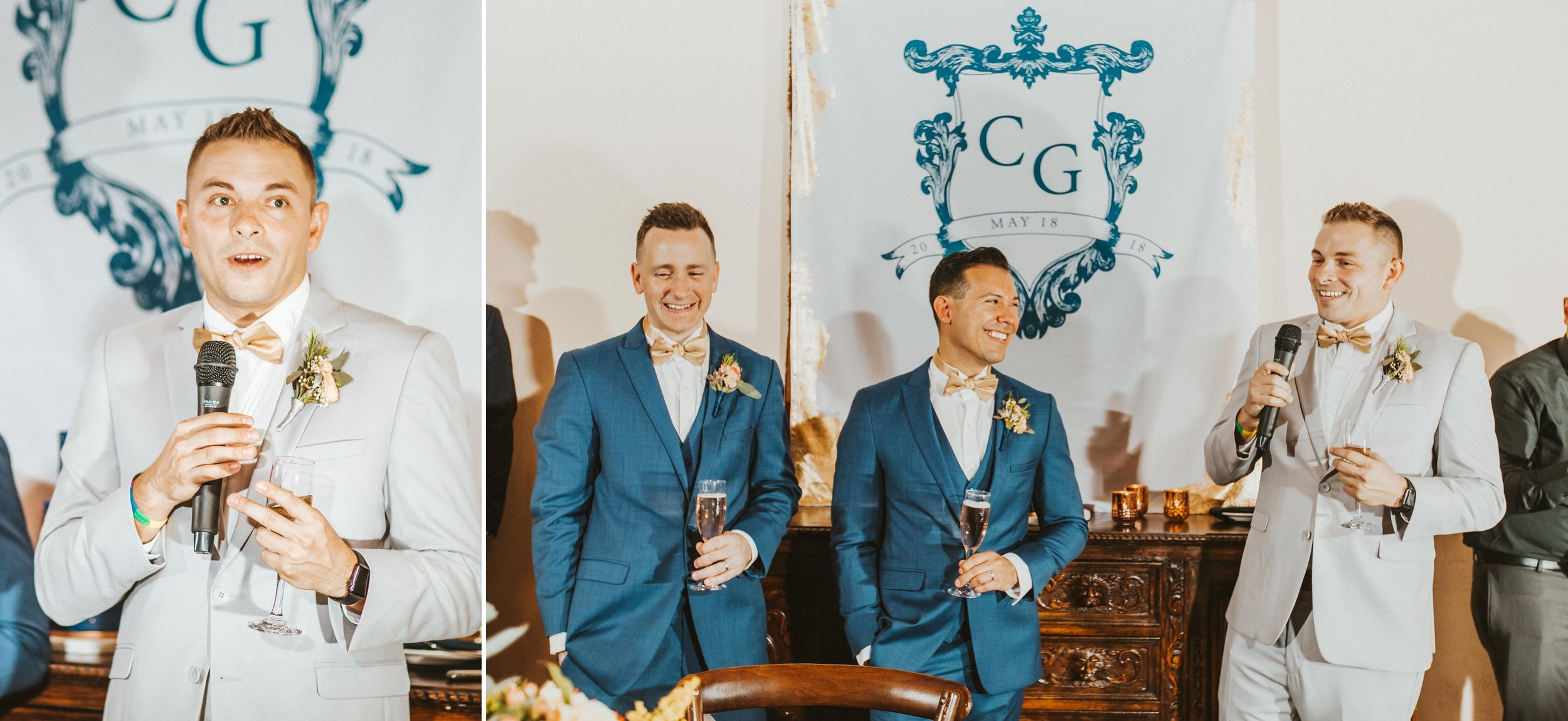 Navy & Copper Casa Feliz Wedding- Travel Inspired LGBT Groom + Groom Wedding- via ShainaDeCiryan.com24.jpg