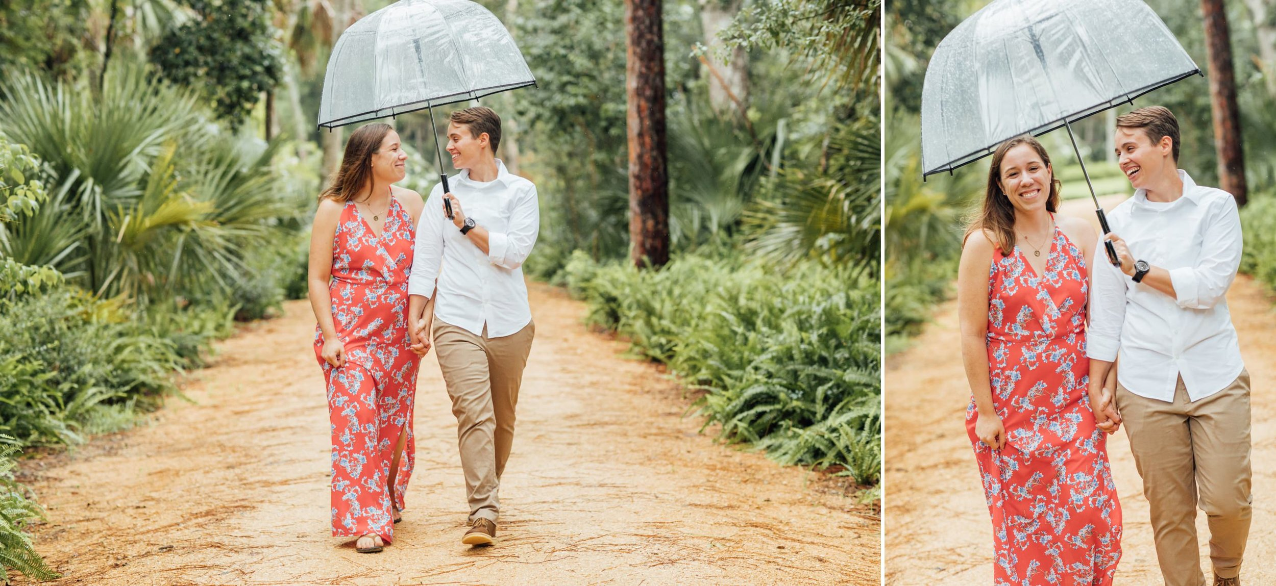 Orlando Natural Forest State Park Engagement Photos- Romantic LGBT Engaged Couples photos2.jpg