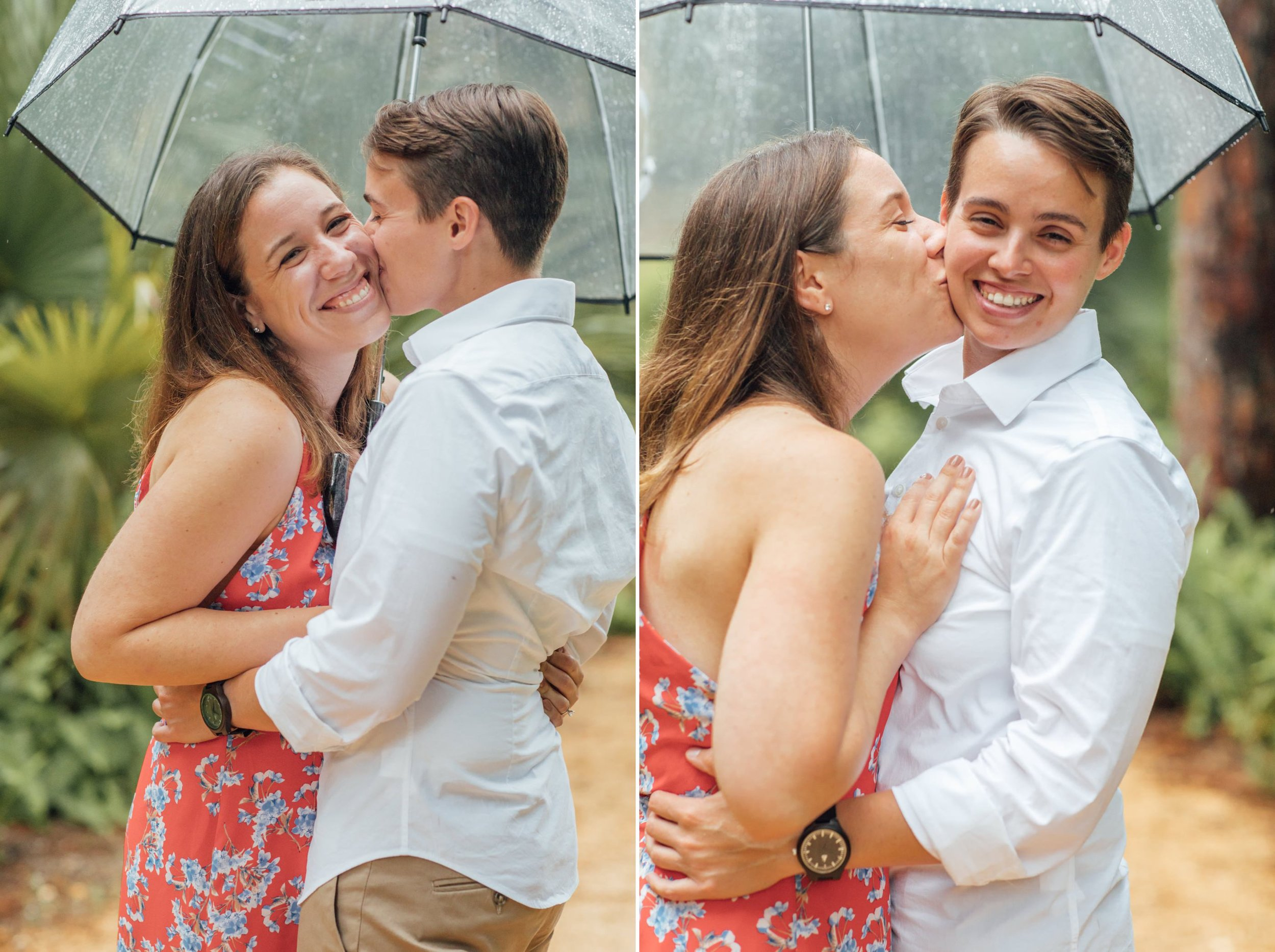 Orlando Natural Forest State Park Engagement Photos- Romantic LGBT Engaged Couples photos1.jpg