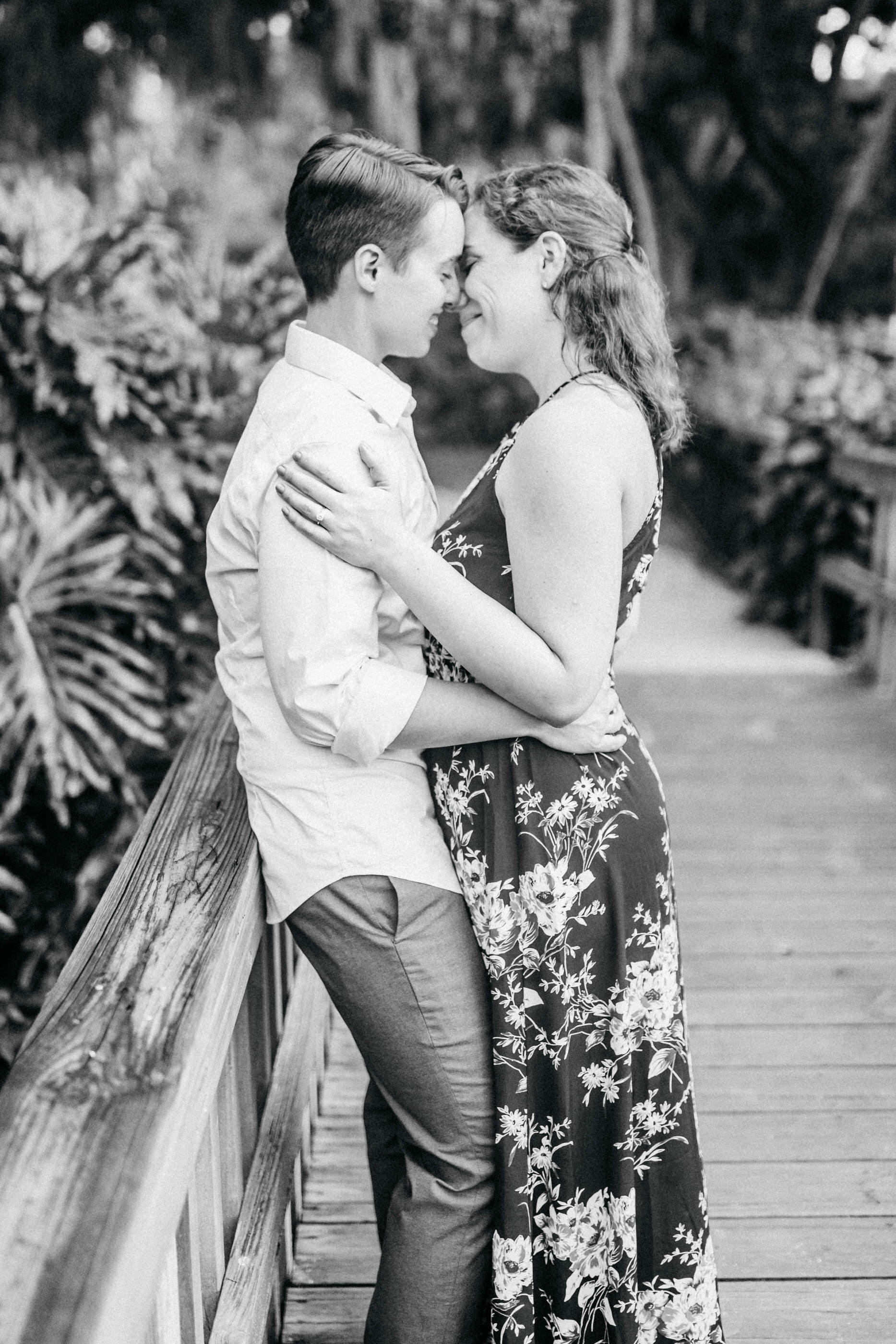 Orlando Natural Forest State Park Engagement Photos- Romantic LGBT Engaged Couples photos112.jpg