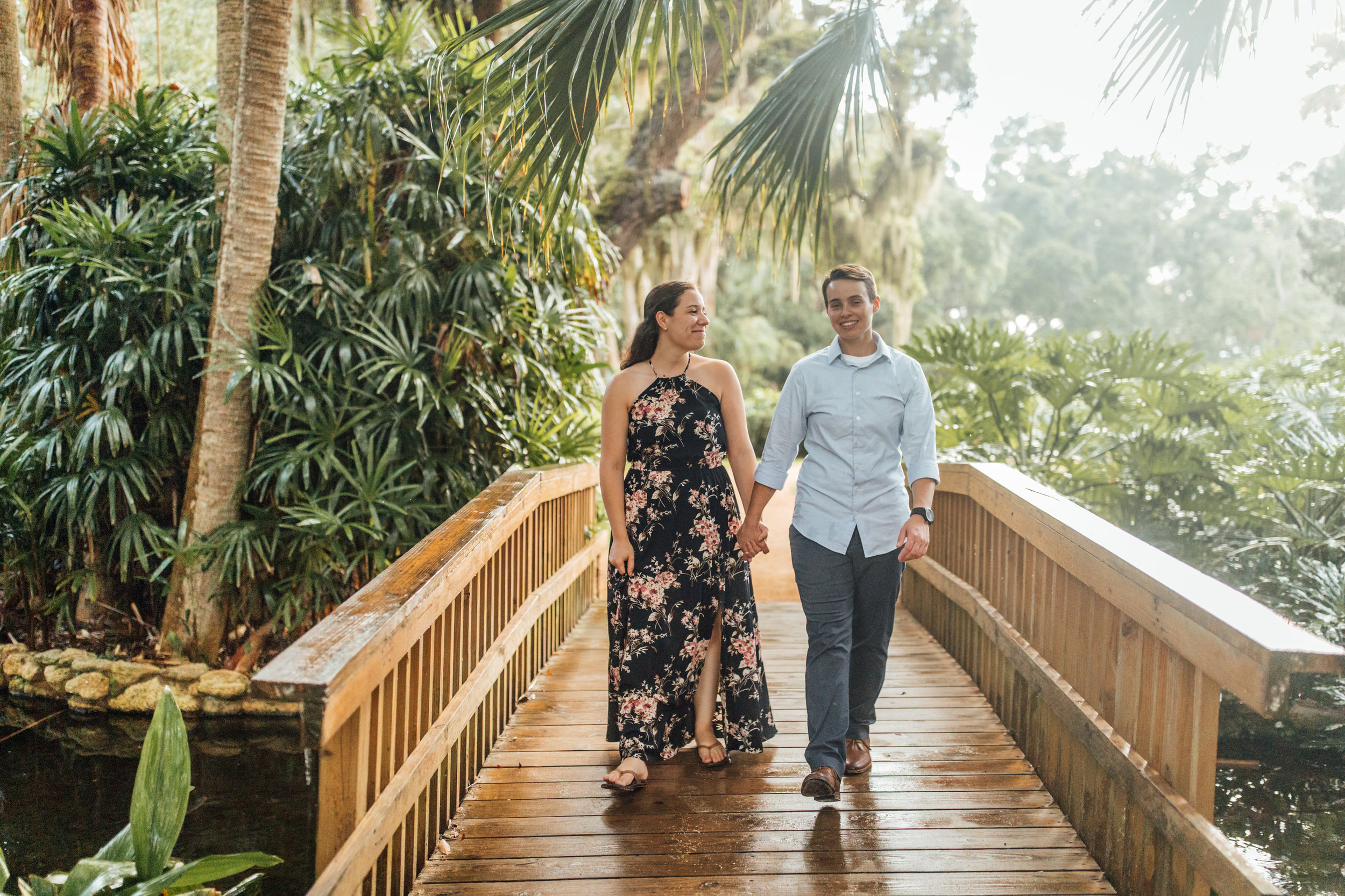 Orlando Natural Forest State Park Engagement Photos- Romantic LGBT Engaged Couples photos99.jpg