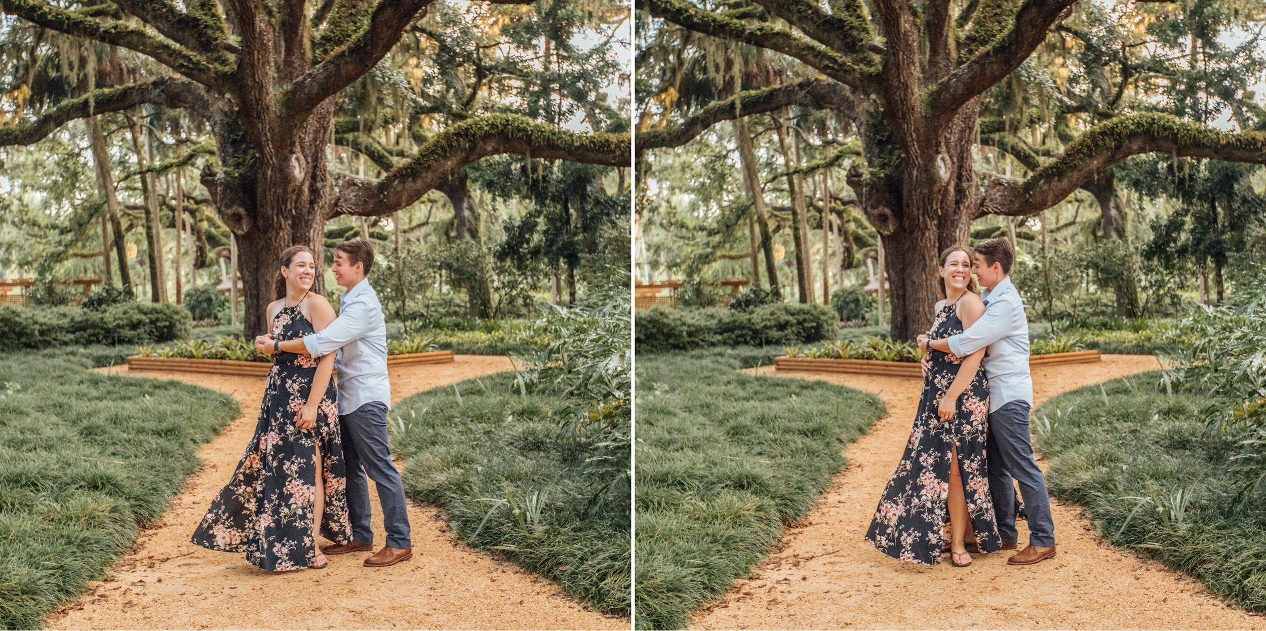 Orlando Natural Forest State Park Engagement Photos- Romantic LGBT Engaged Couples photos11.jpg