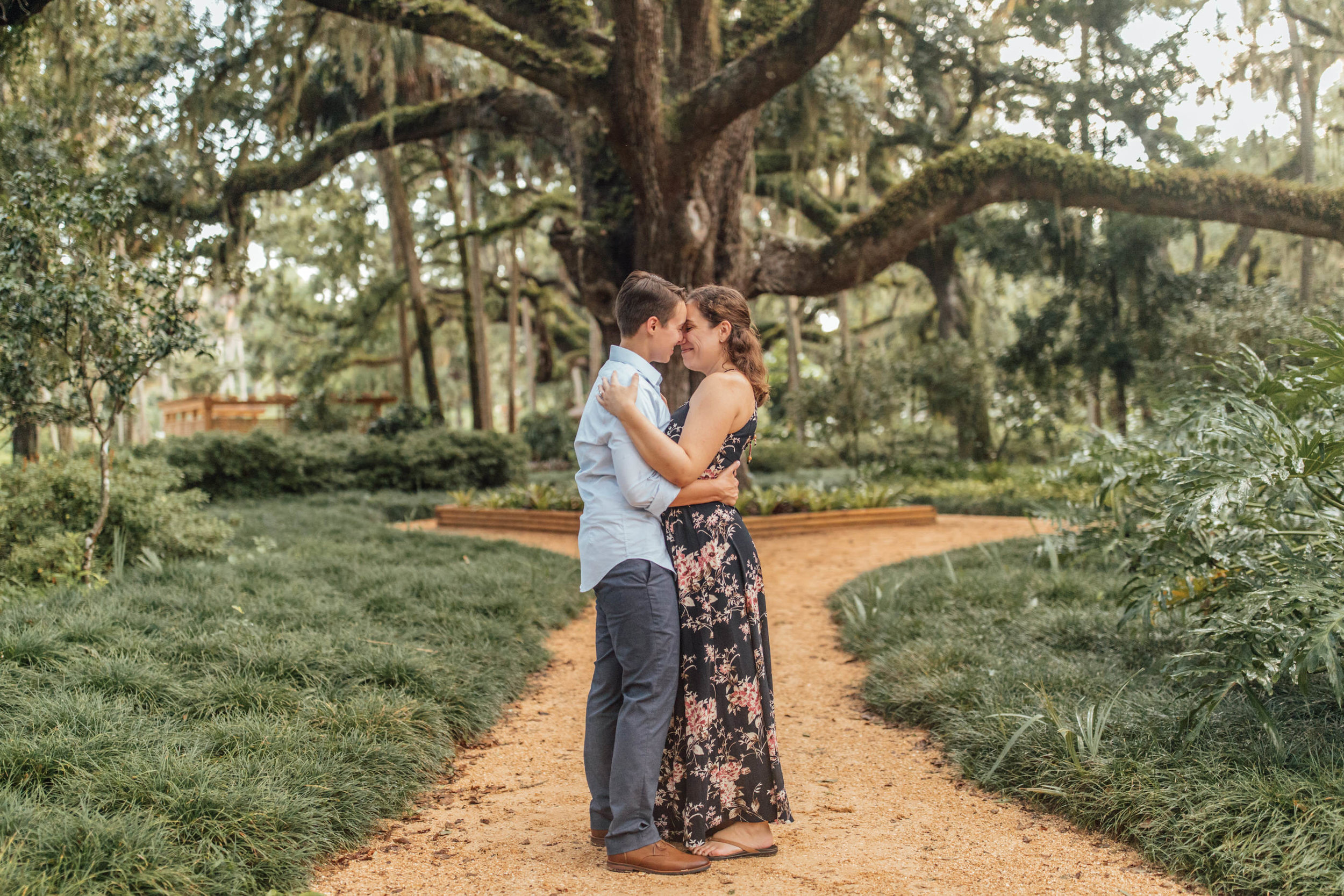 Orlando Natural Forest State Park Engagement Photos- Romantic LGBT Engaged Couples photos92.jpg
