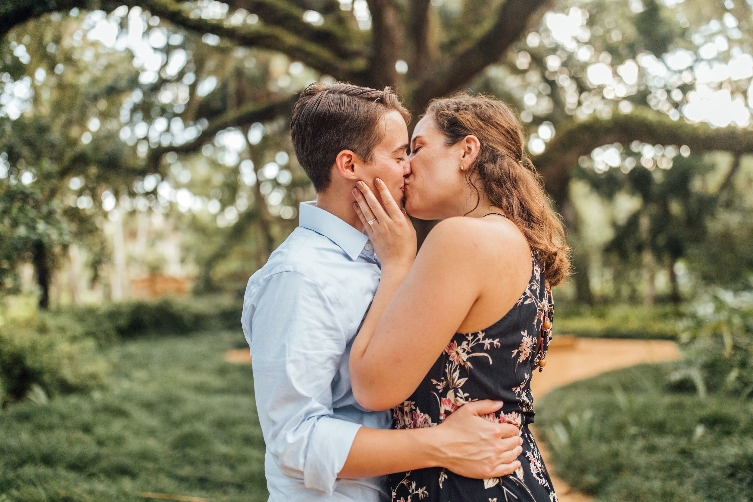 Orlando Natural Forest State Park Engagement Photos- Romantic LGBT Engaged Couples photos97.jpg