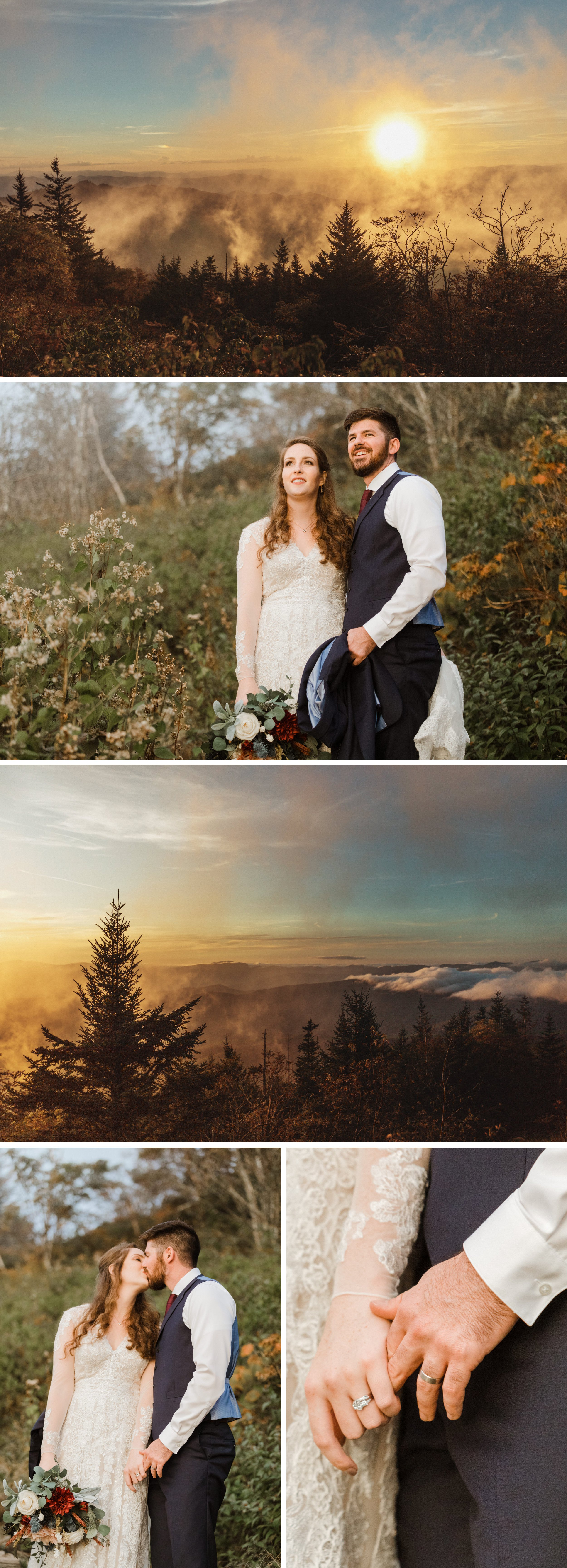Great Smoky Mountain National Park Elopement- Cole + Rachel- Photographer Shaina DeCiryan-11.20186.jpg