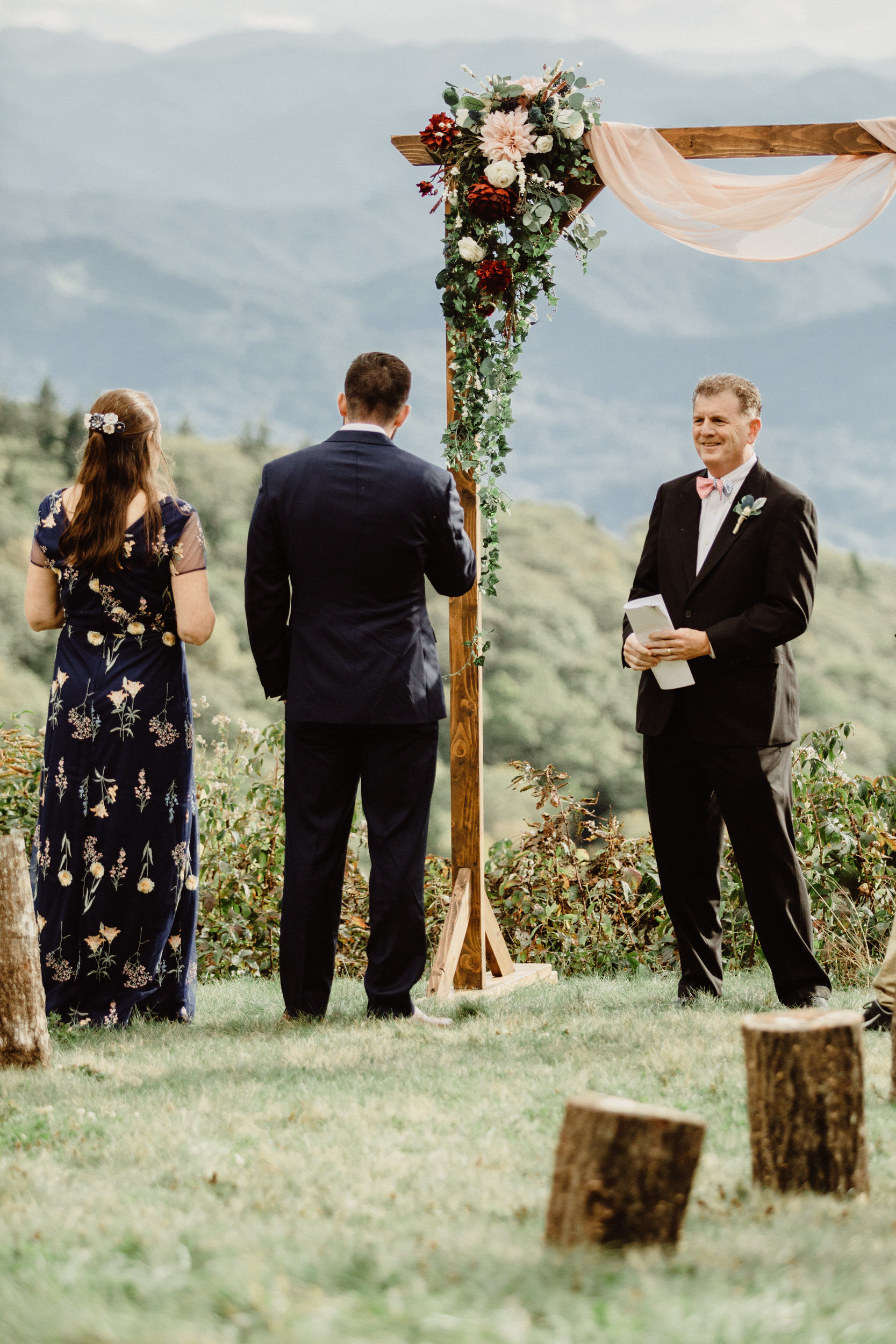 3. Elopement Ceremony- Cole + Rachel's Great Smoky Mountain National Park Elopement-23.jpg