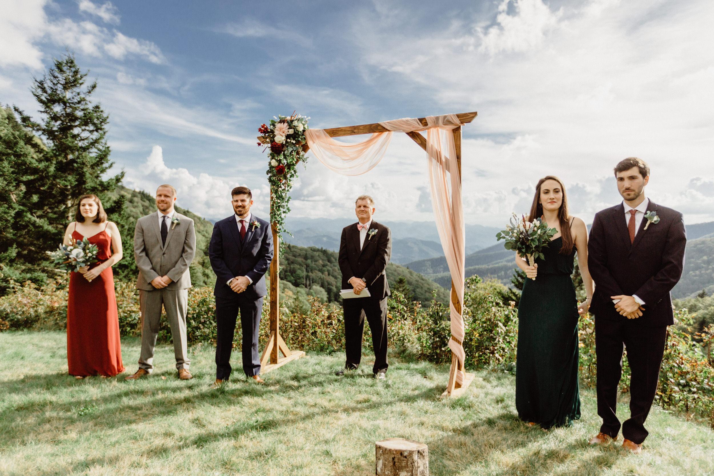 3. Elopement Ceremony- Cole + Rachel's Great Smoky Mountain National Park Elopement-45.jpg