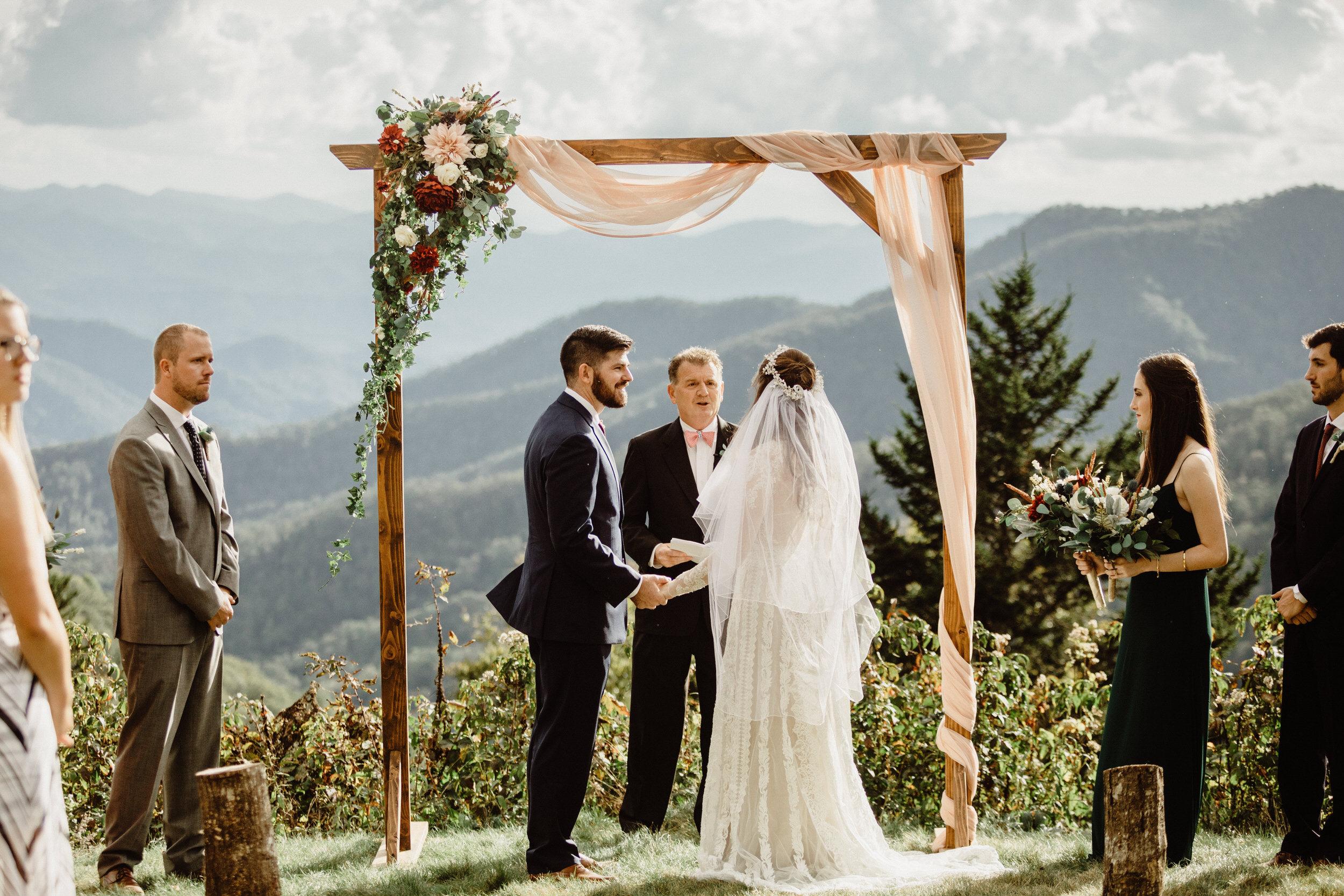 3. Elopement Ceremony- Cole + Rachel's Great Smoky Mountain National Park Elopement-81.jpg