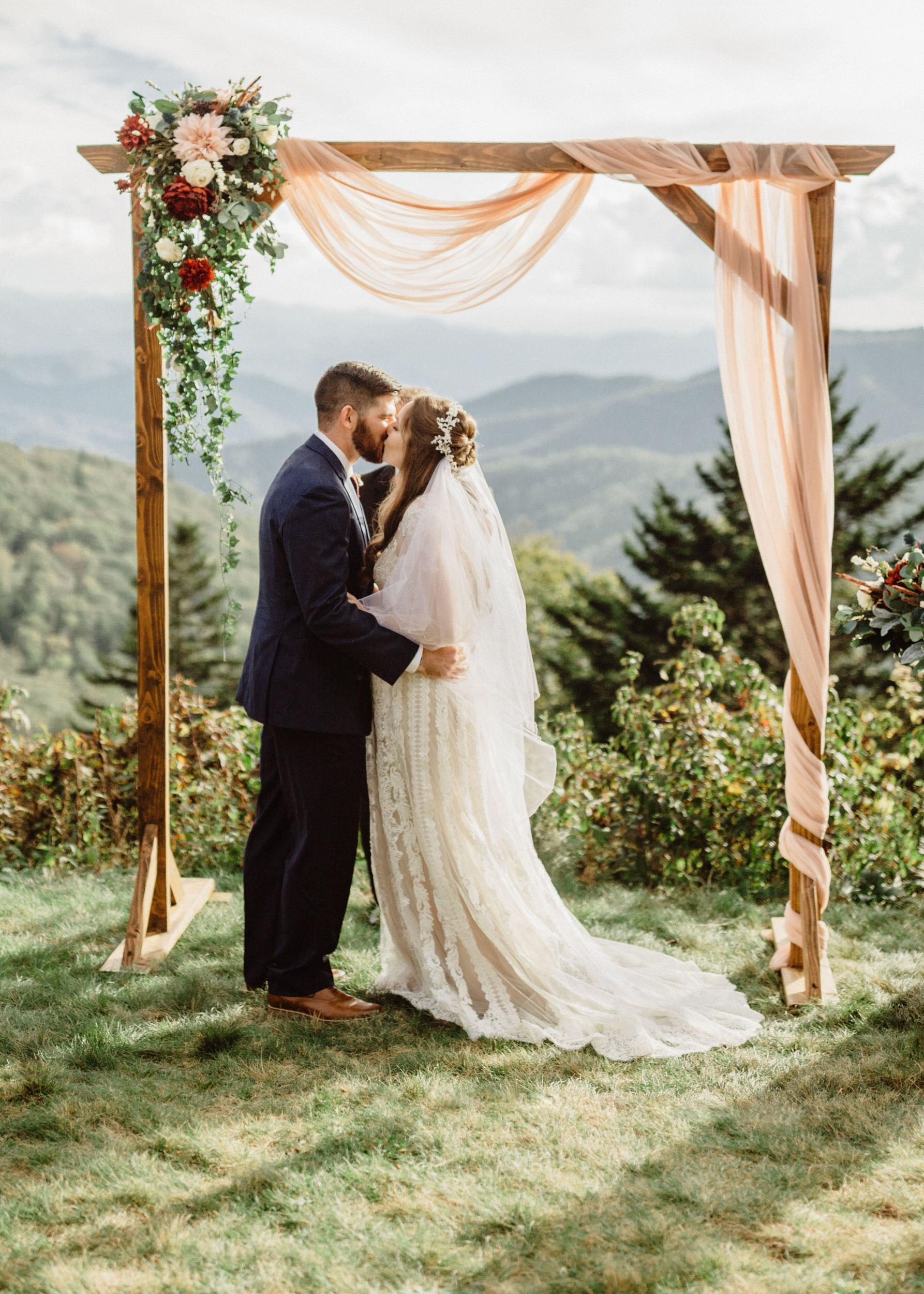 3. Elopement Ceremony- Cole + Rachel's Great Smoky Mountain National Park Elopement-175.jpg