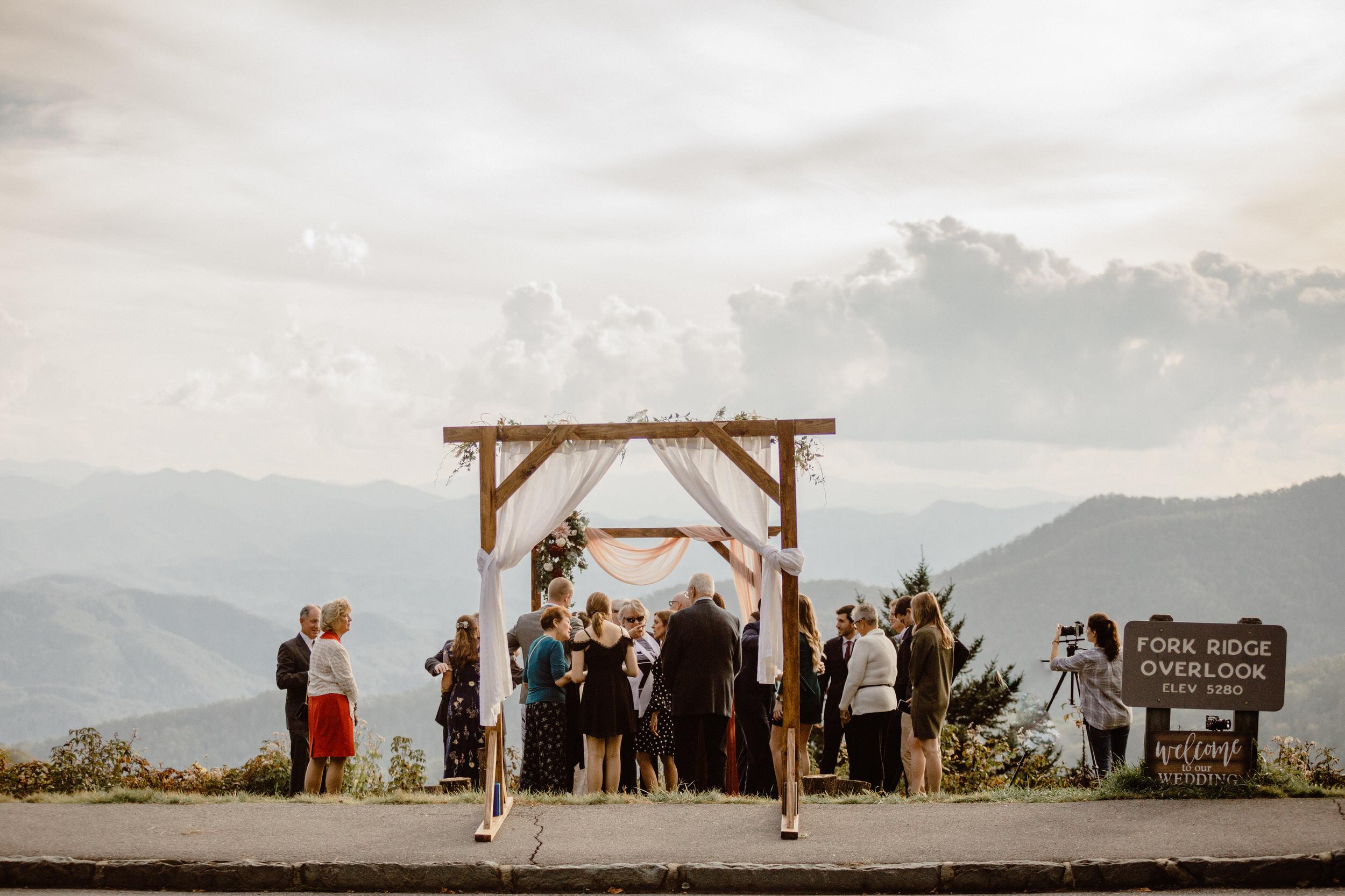 3. Elopement Ceremony- Cole + Rachel's Great Smoky Mountain National Park Elopement-229.jpg