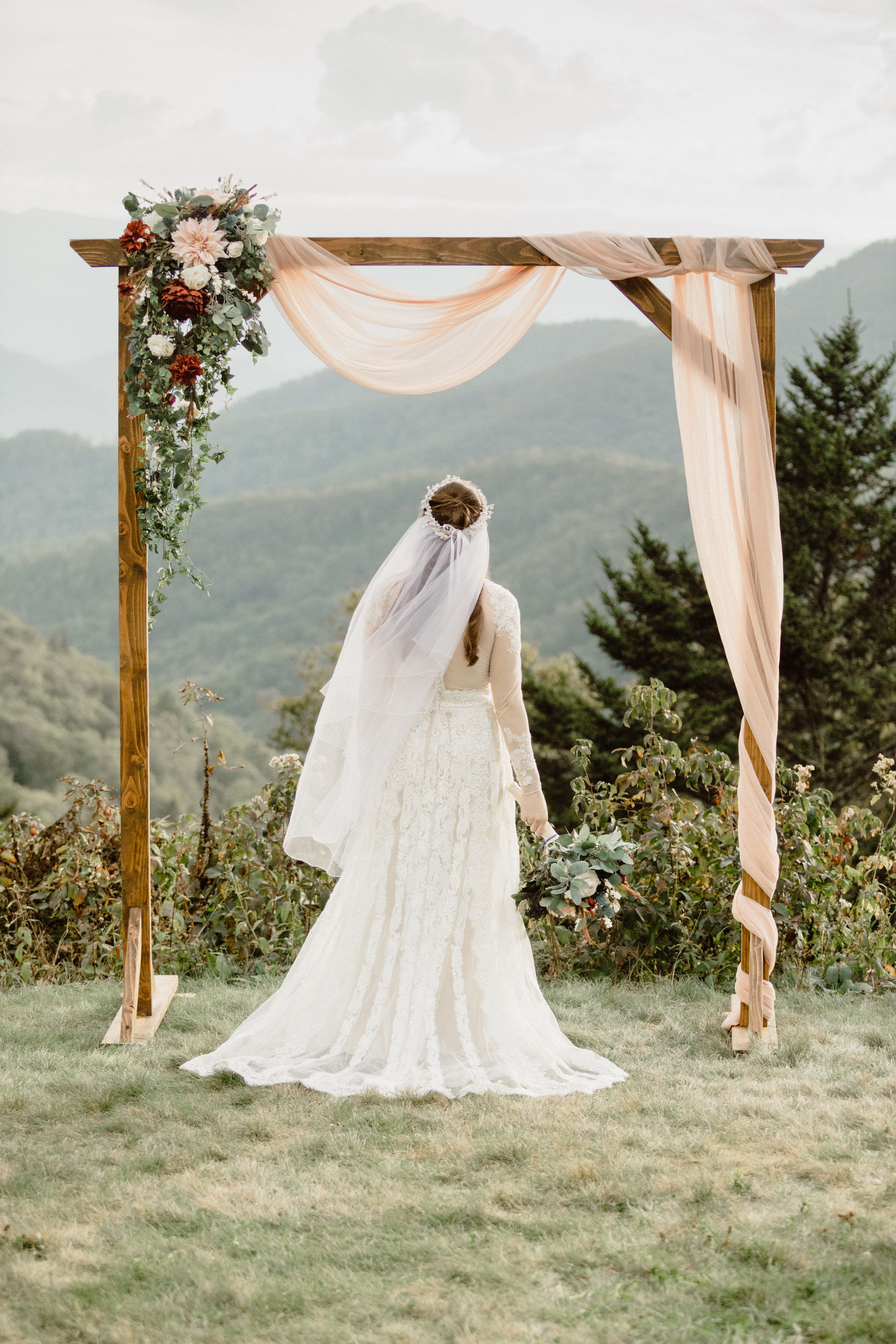 5. Mountain Bride & Groom Portraits- Cole + Rachel's Great Smoky Mountain National Park Elopement-18.jpg