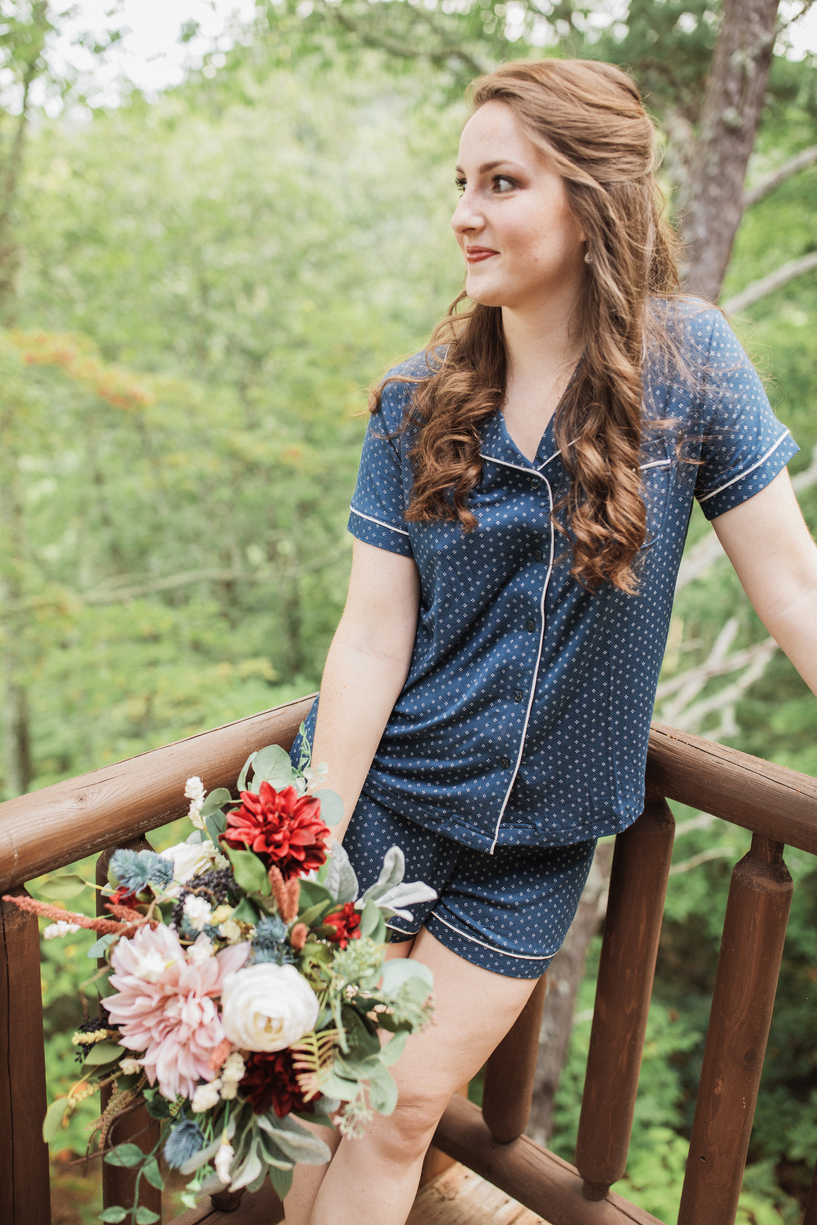 1. Bride's morning- Cole + Rachel's Great Smoky Mountain National Park Elopement-109.jpg