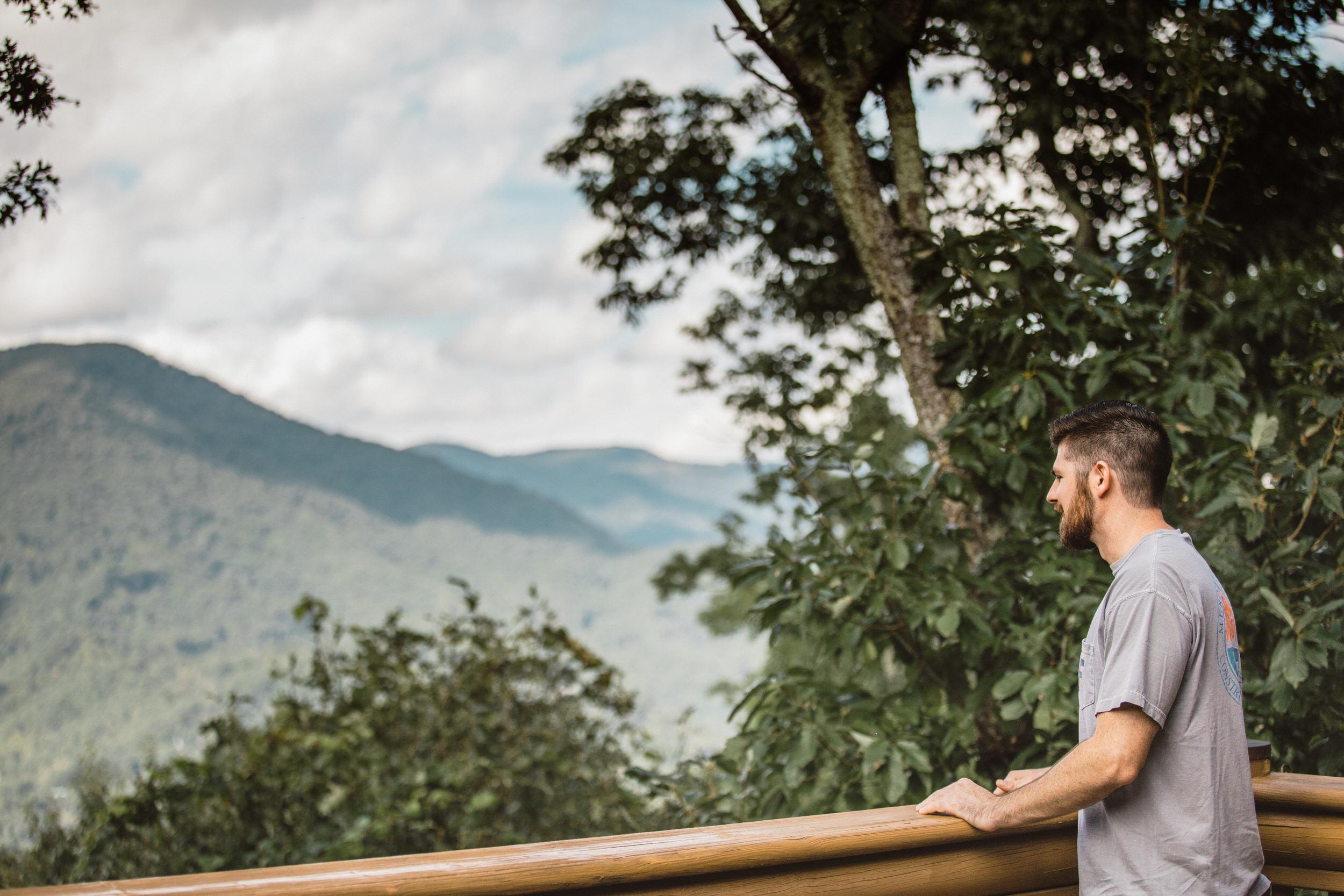2. Groom's Morning - Cole + Rachel's Great Smoky Mountain National Park Elopement-20.jpg