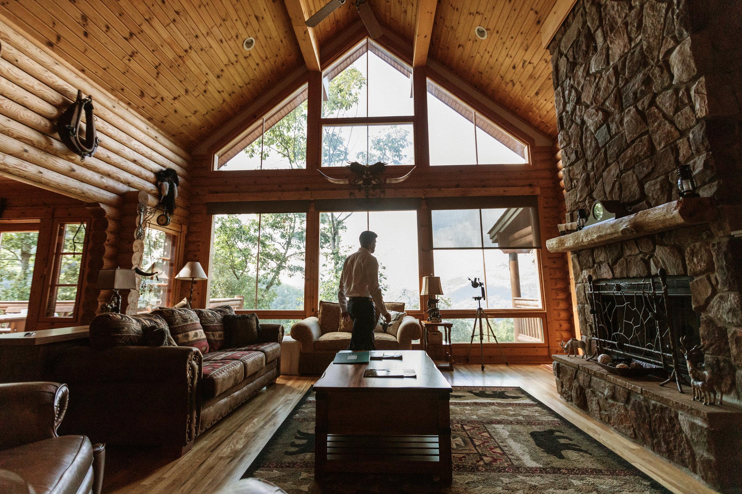 2. Groom's Morning - Cole + Rachel's Great Smoky Mountain National Park Elopement-70.jpg