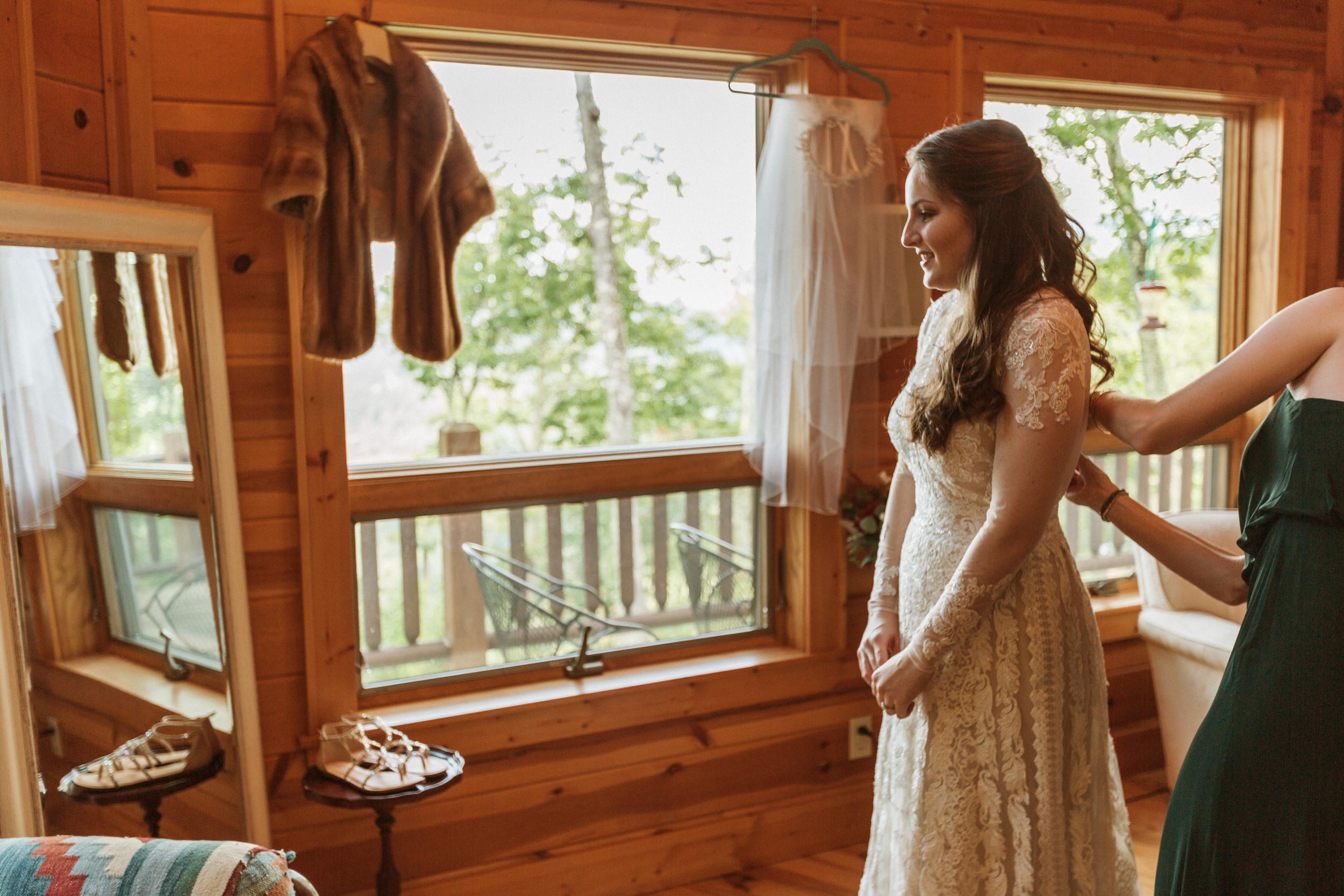 1. Bride's morning- Cole + Rachel's Great Smoky Mountain National Park Elopement-128.jpg