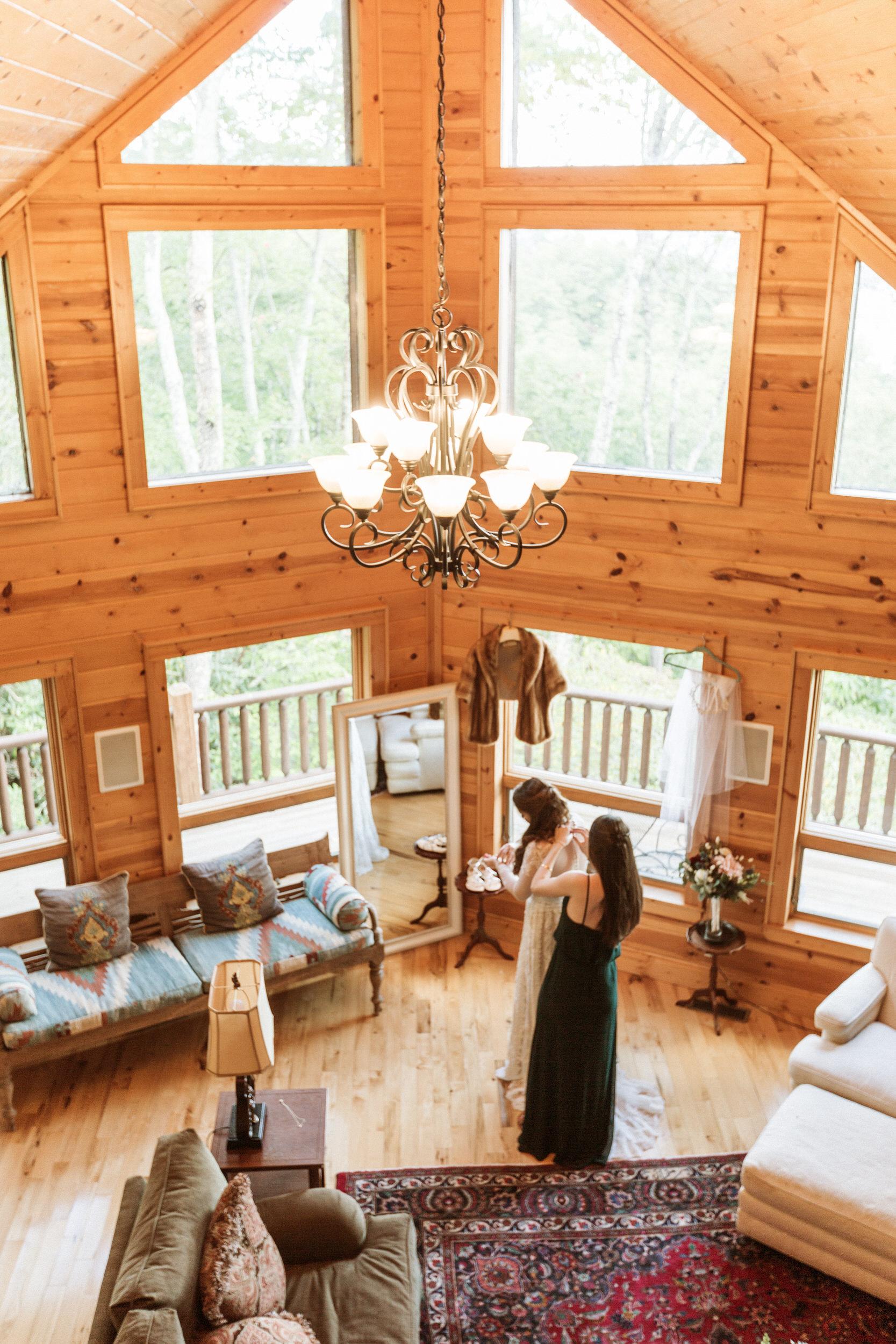 1. Bride's morning- Cole + Rachel's Great Smoky Mountain National Park Elopement-147.jpg