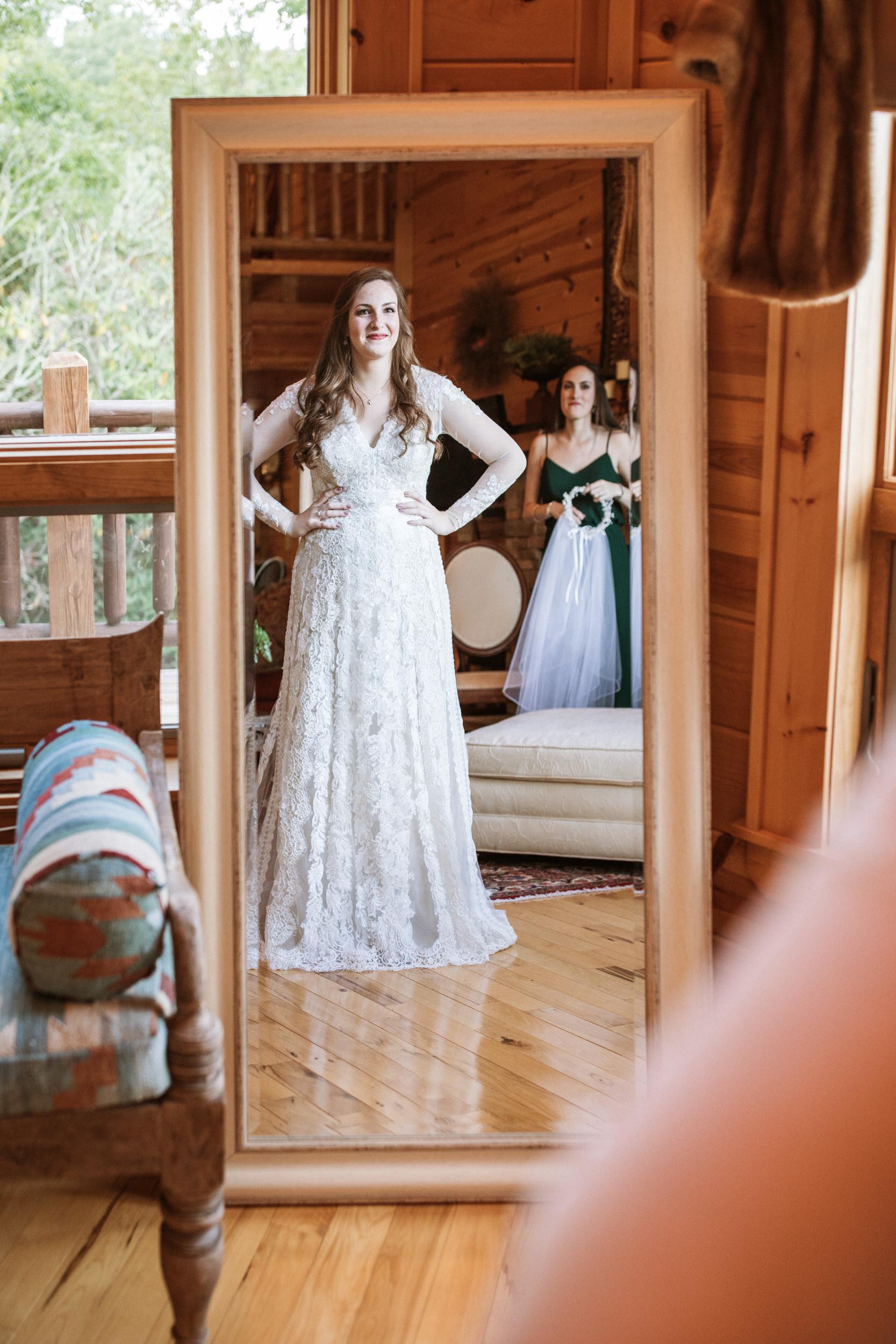 1. Bride's morning- Cole + Rachel's Great Smoky Mountain National Park Elopement-171.jpg