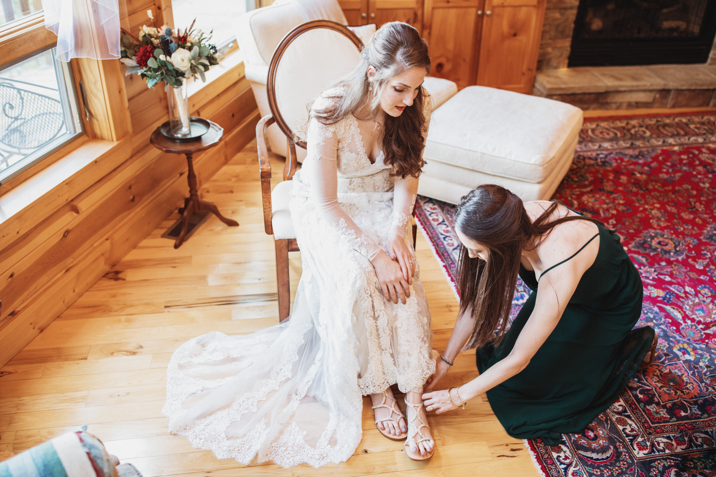 1. Bride's morning- Cole + Rachel's Great Smoky Mountain National Park Elopement-164.jpg