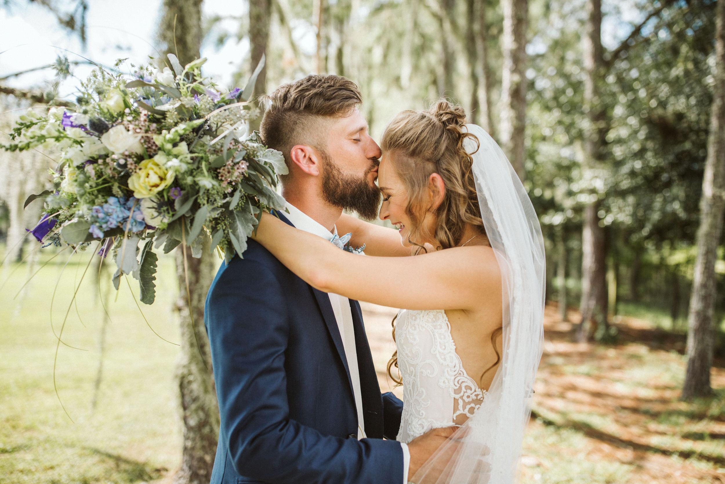 Bohemian Backyard Wedding- Sarasota- Courtney + Isaac- Photographer Shaina DeCiryan11.jpg