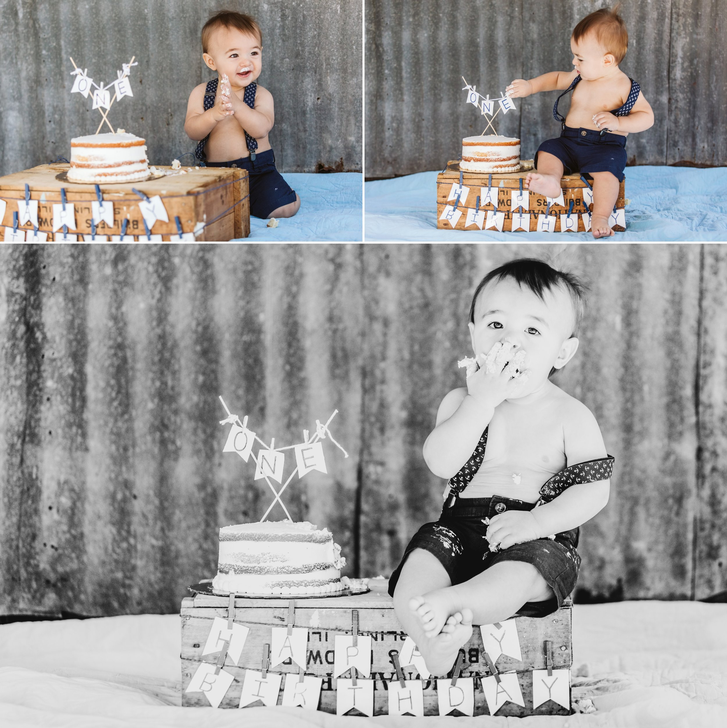 Horse Ranch Lifestyle family photos- cake smash- birthday pony- Hudson14.jpg