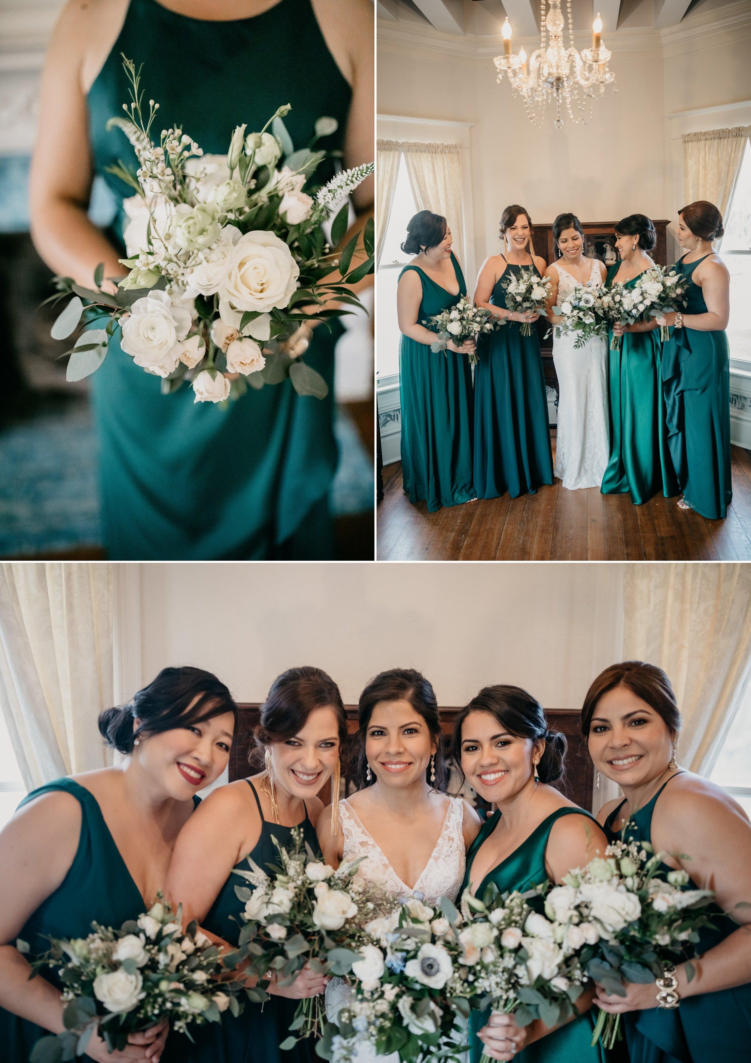 Romantic Spring Floral Emerald Green Wedding Style- Orlando- Adriana + Karlton3.jpg