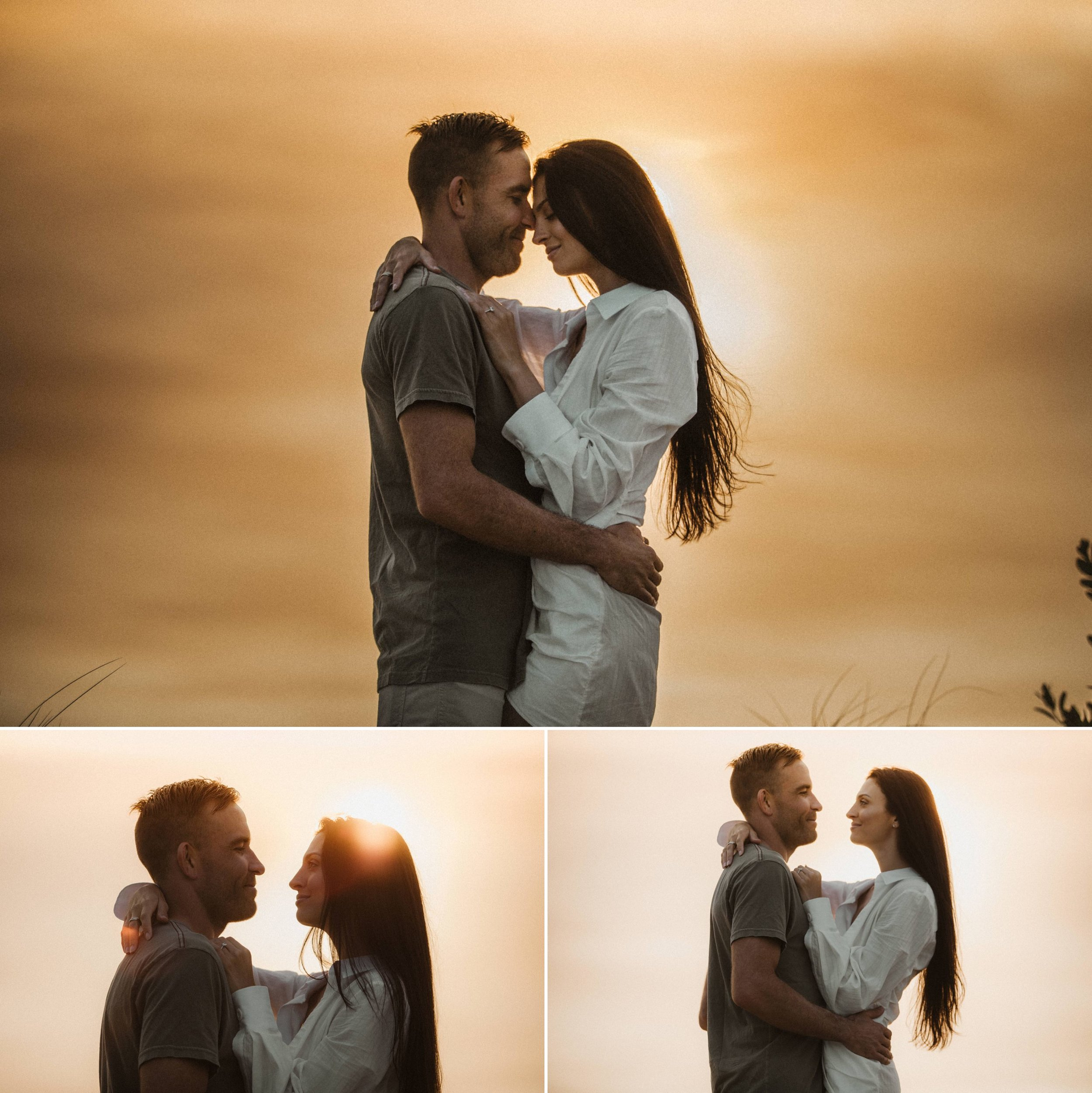 Adventure Brushfire sunset beach engagement- Gabriella + Chad- Shaina DeCiryan photography3.jpg