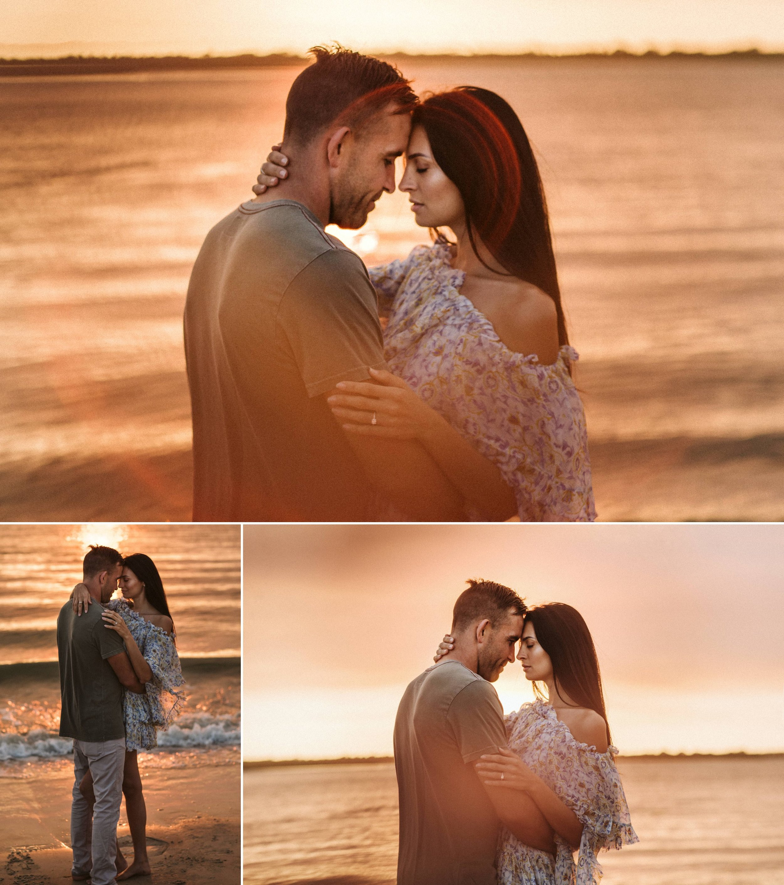 Adventure Brushfire sunset beach engagement- Gabriella + Chad- Shaina DeCiryan photography8.jpg