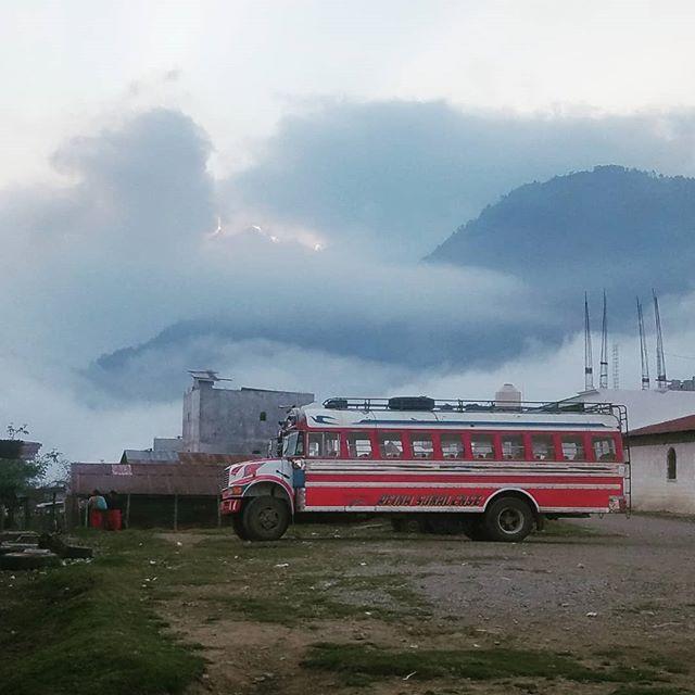#chickenbus #guatemala