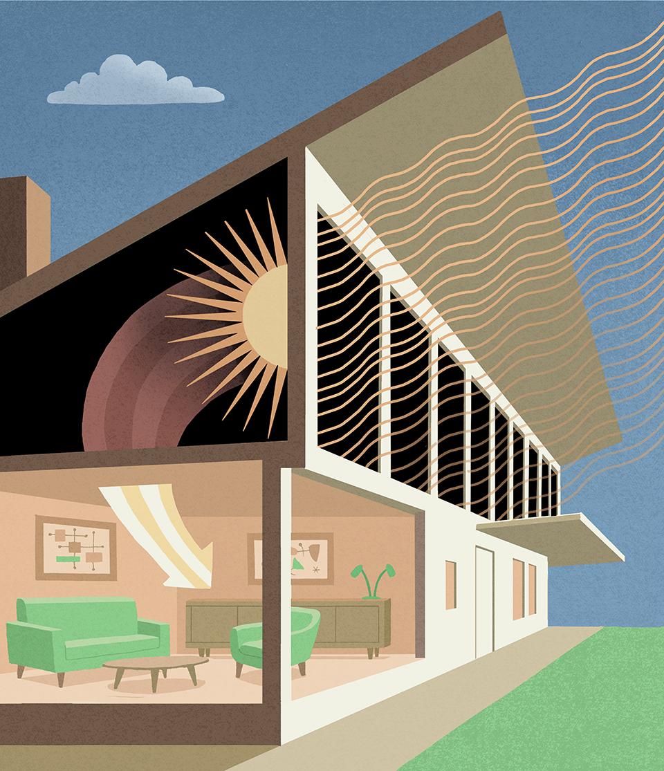 The Dover Sun House