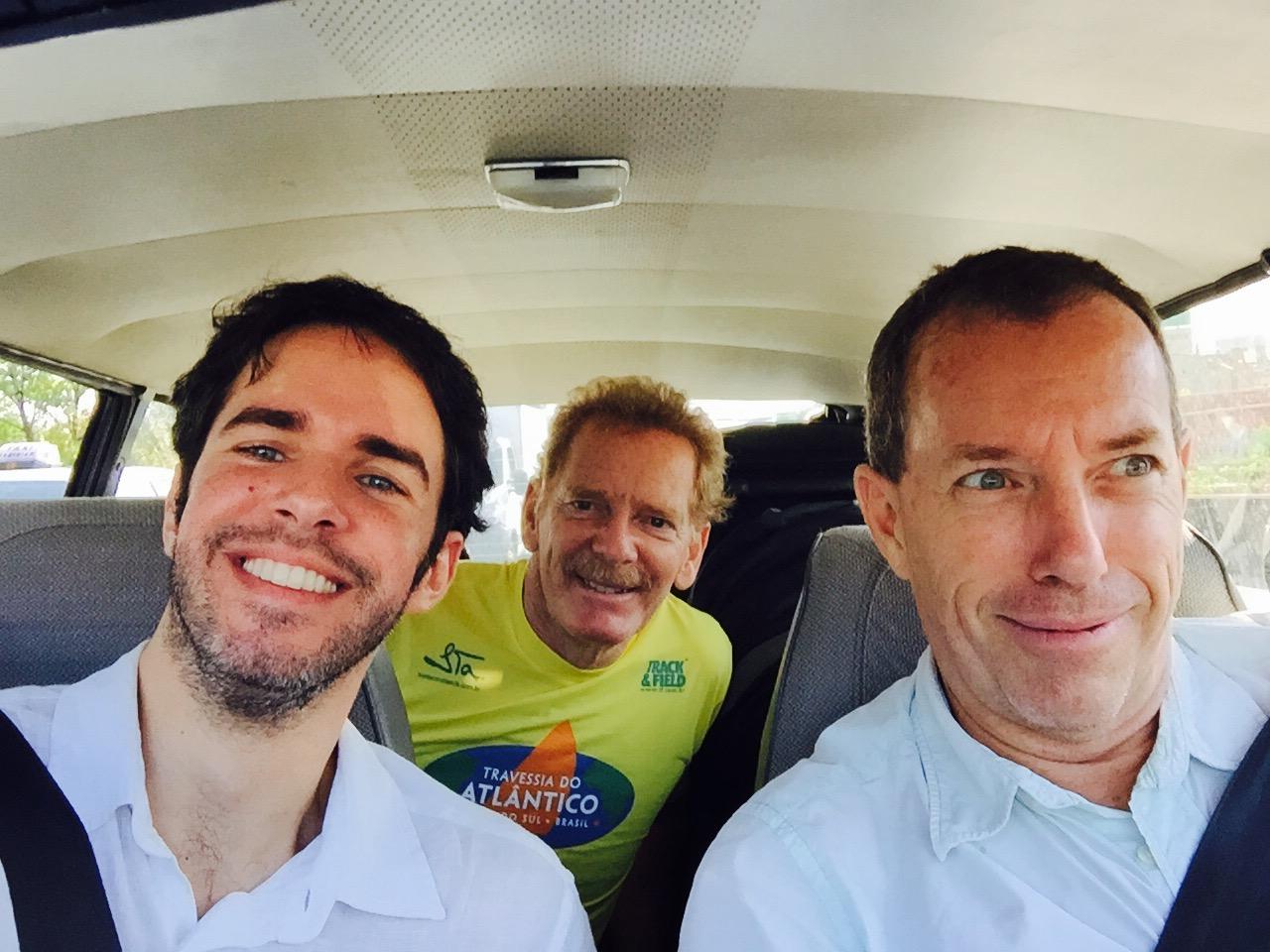 Clemente Gauer, Gérard Moss e Dietrich Batista