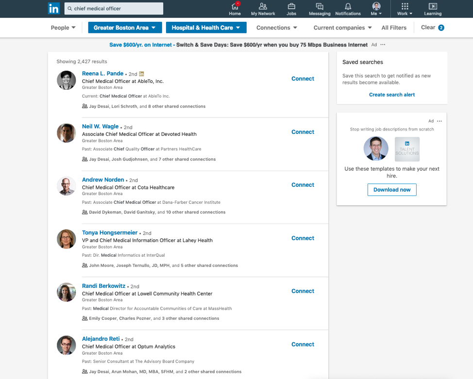 Hencove LinkedIn Search Example 1.png