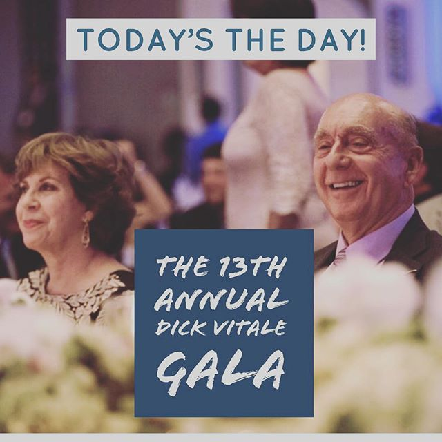 It's finally here!! @dickiev_espn we know it will be the most successful year yet! #DickVitaleGala2018