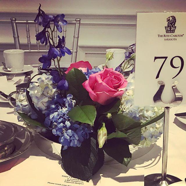 2019 Tidewell Hospice Signature Luncheon featuring Guest Speaker Scott Hamilton @ritzcarltonsarasota #eventplanner #fundraiser #tidewellhospice #luncheon #sarasotaevents