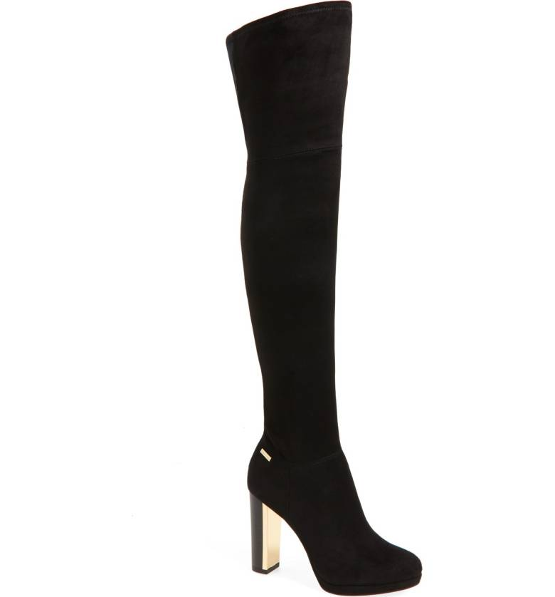 Calvin Klein Polomia Platform Over the Knee boot
