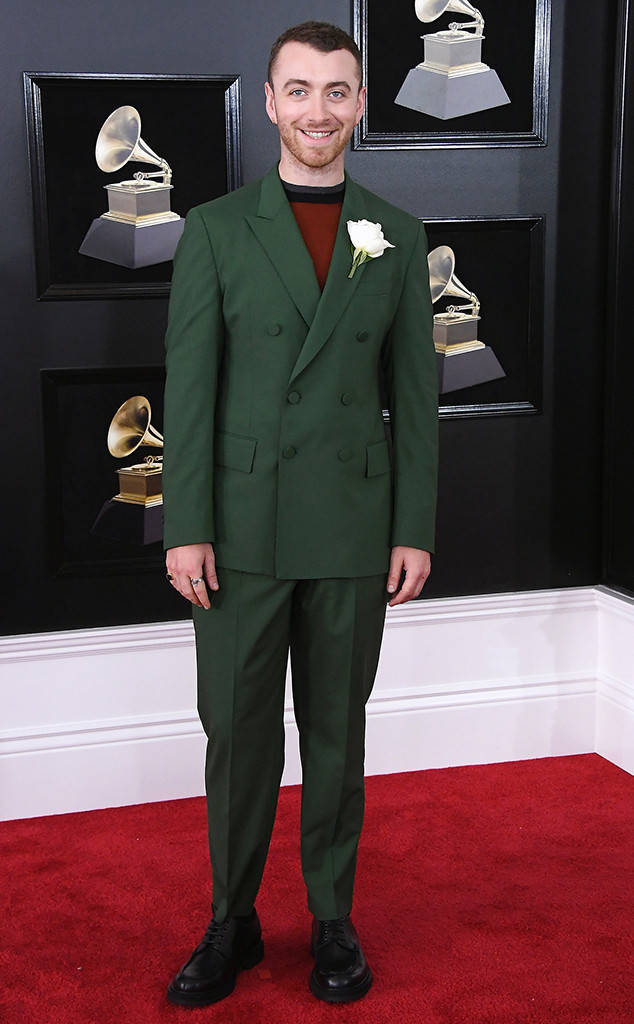Sam Smith at the 2018 Grammys