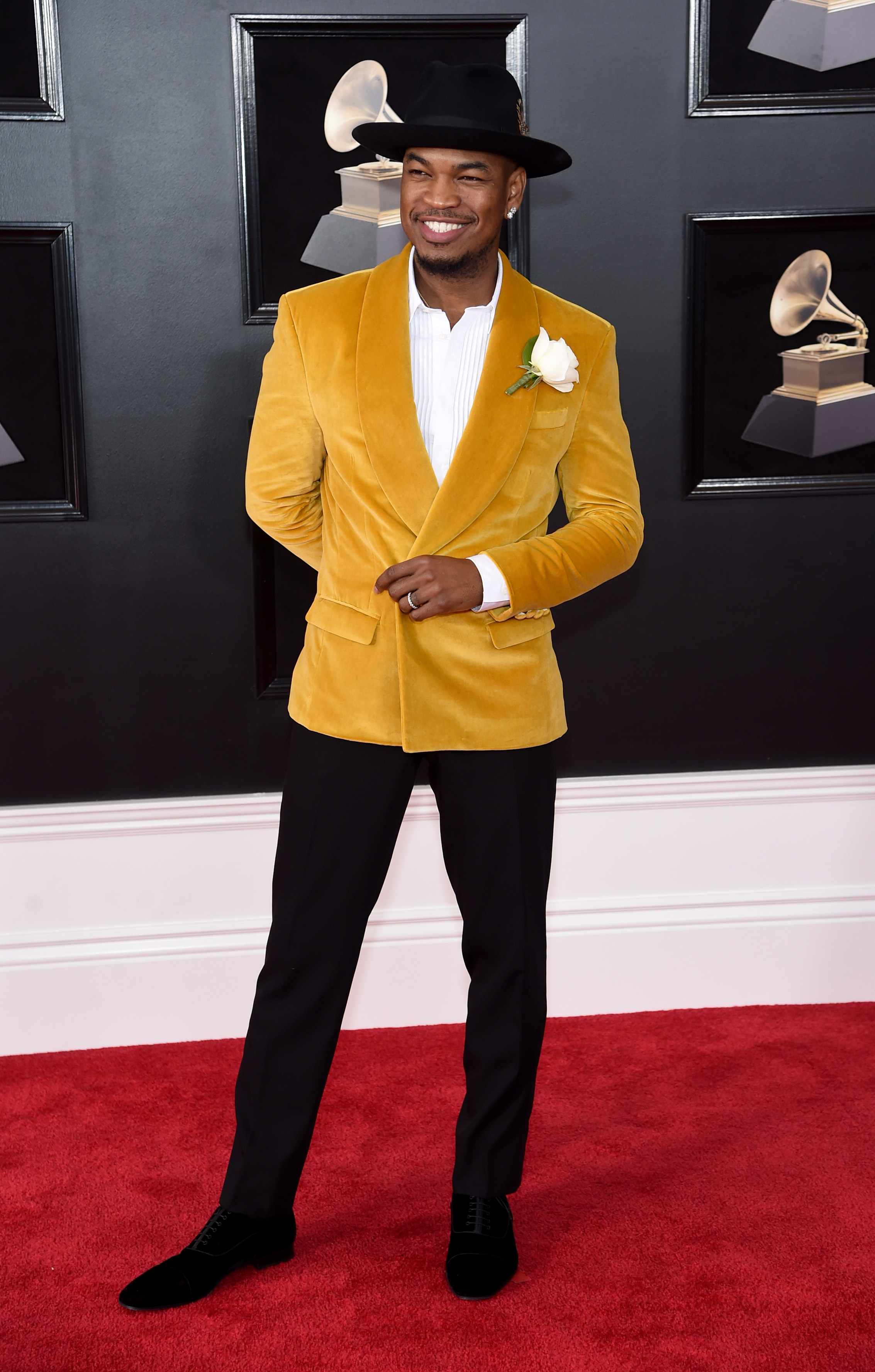 Ne-Yo at the 2018 Grammys