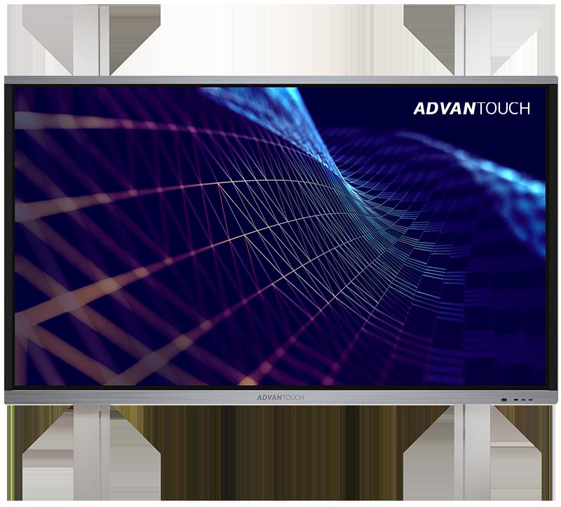Manuelle Pylonen-HV - ADVANTouch auf manueller DEGEN Pylonenhöhenverstellung. Der günstige Einstieg in die Welt der digitalen Tafel.