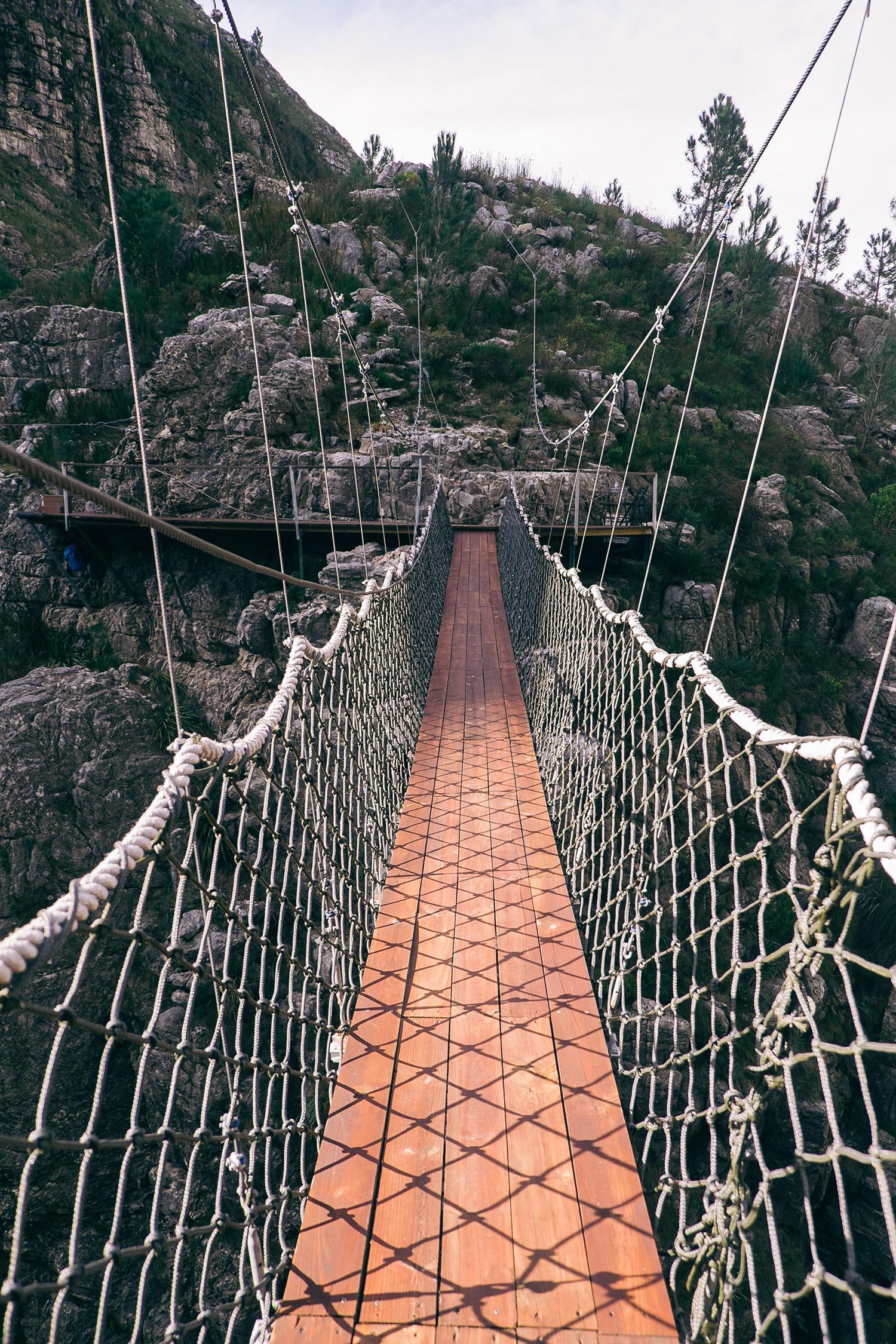 Cape Canopy Tours Elgin zip lining cape town