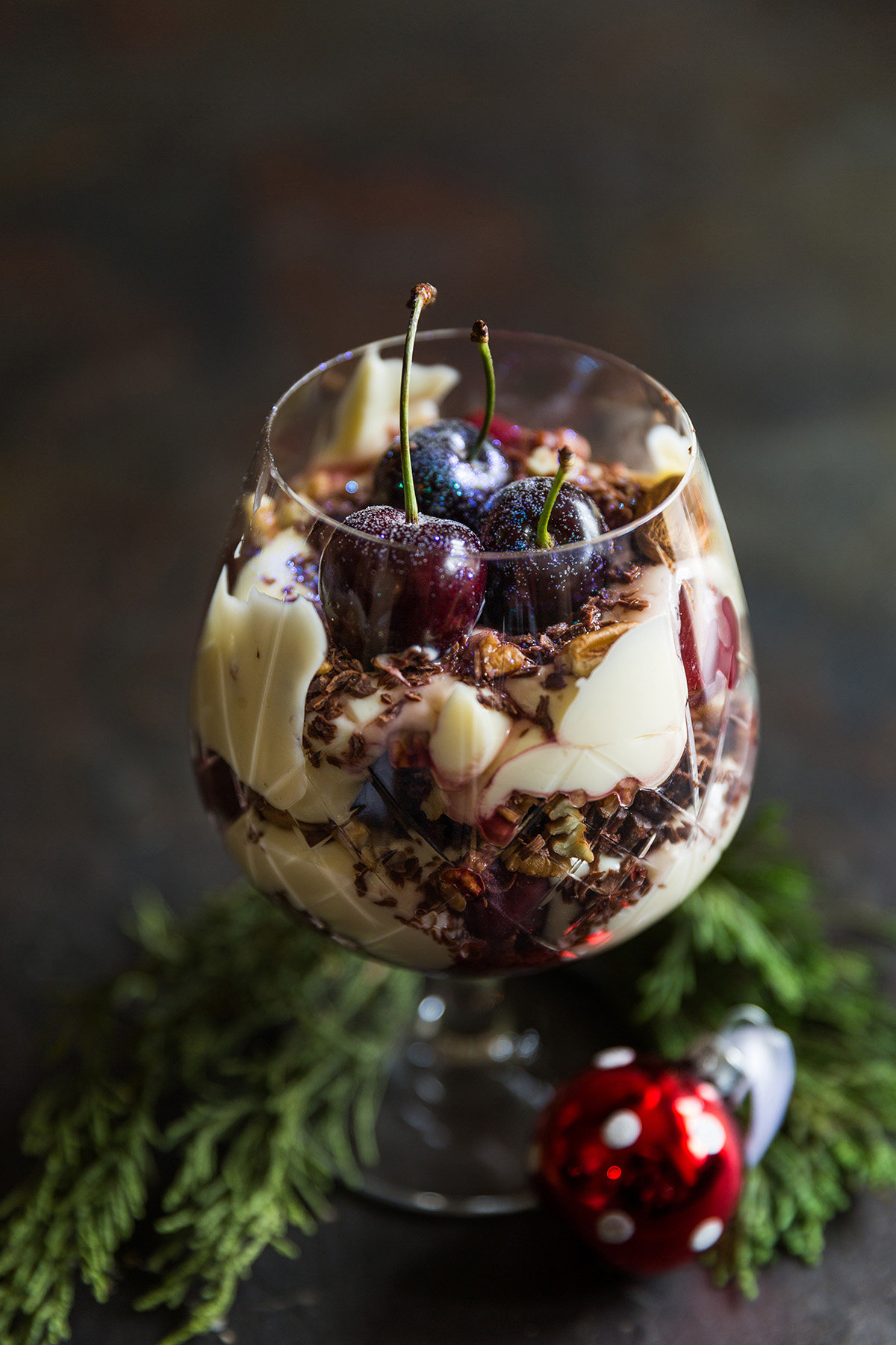 Black Forest Trifle for Christmas