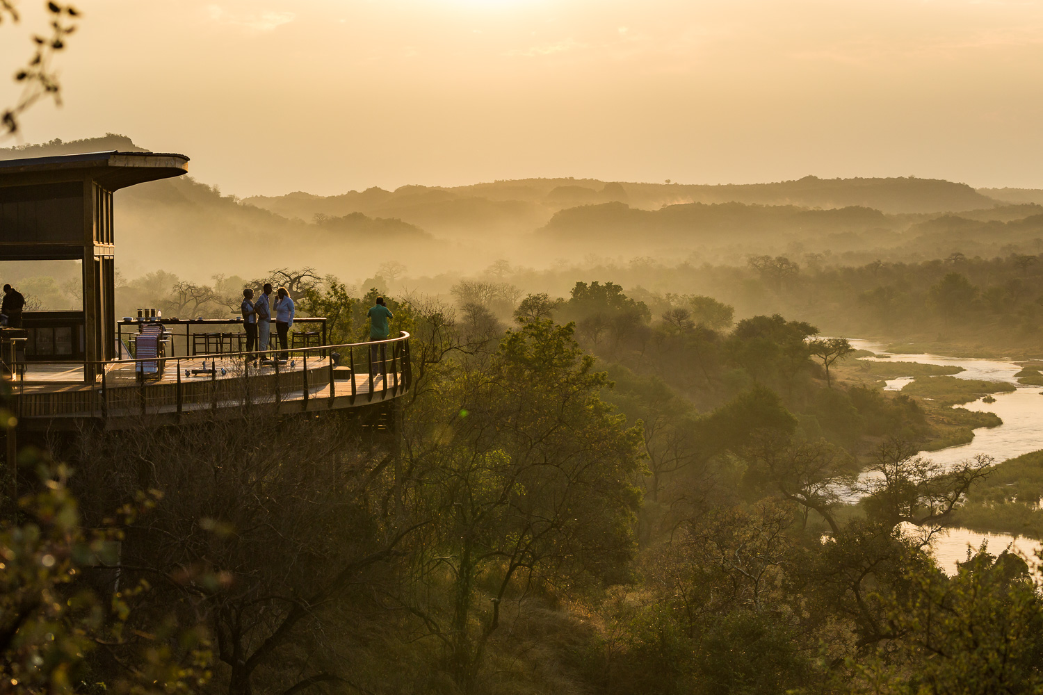 STAYING AT PEL'S POST, KRUGER NATIONAL PARK