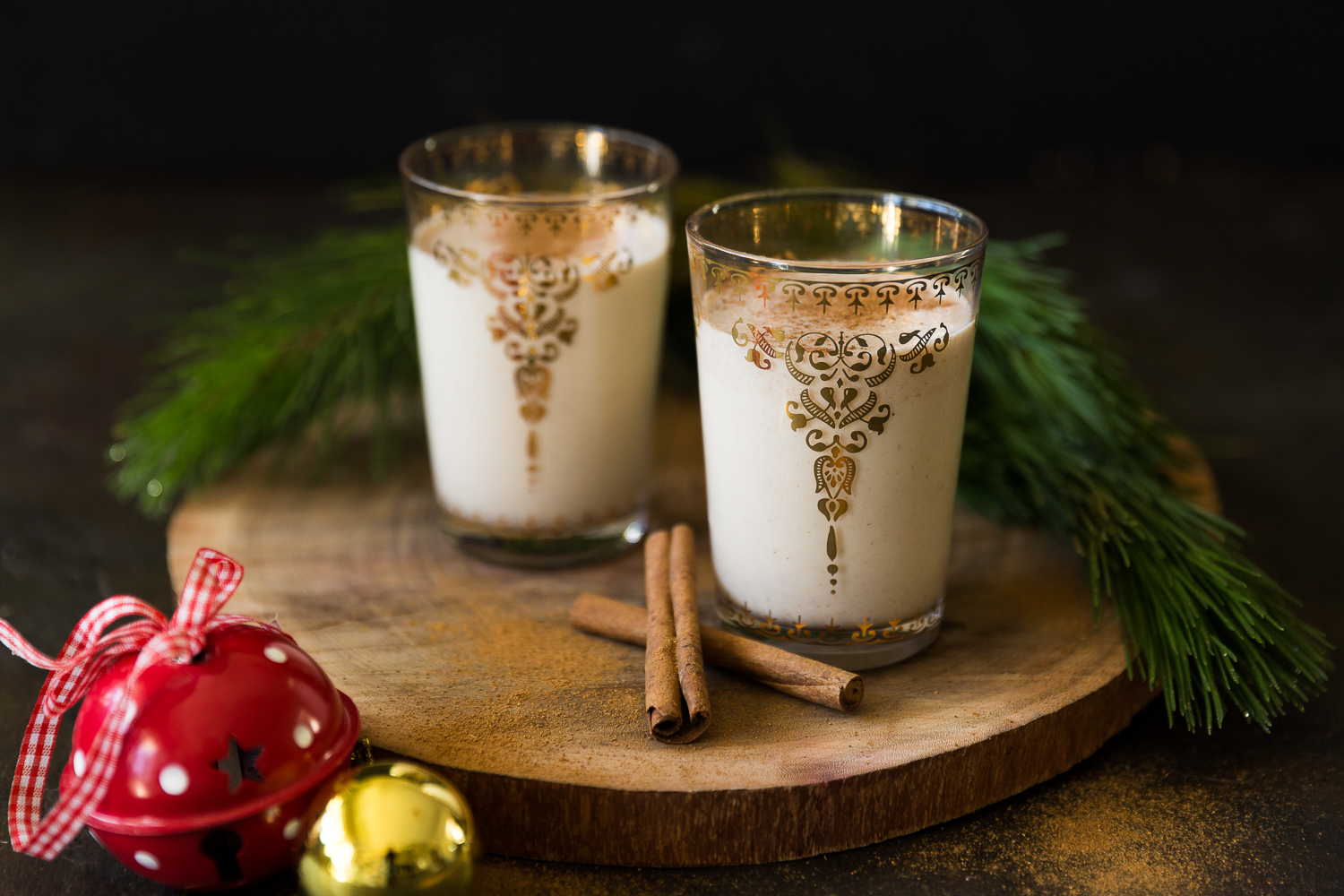 Christmas Vegan Eggnog!
