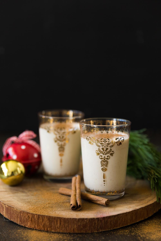 Christmas Vegan Eggnog!