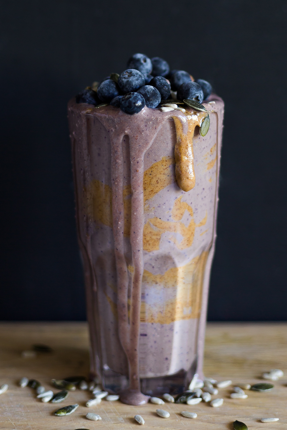 My sugar busting blueberry smoothie