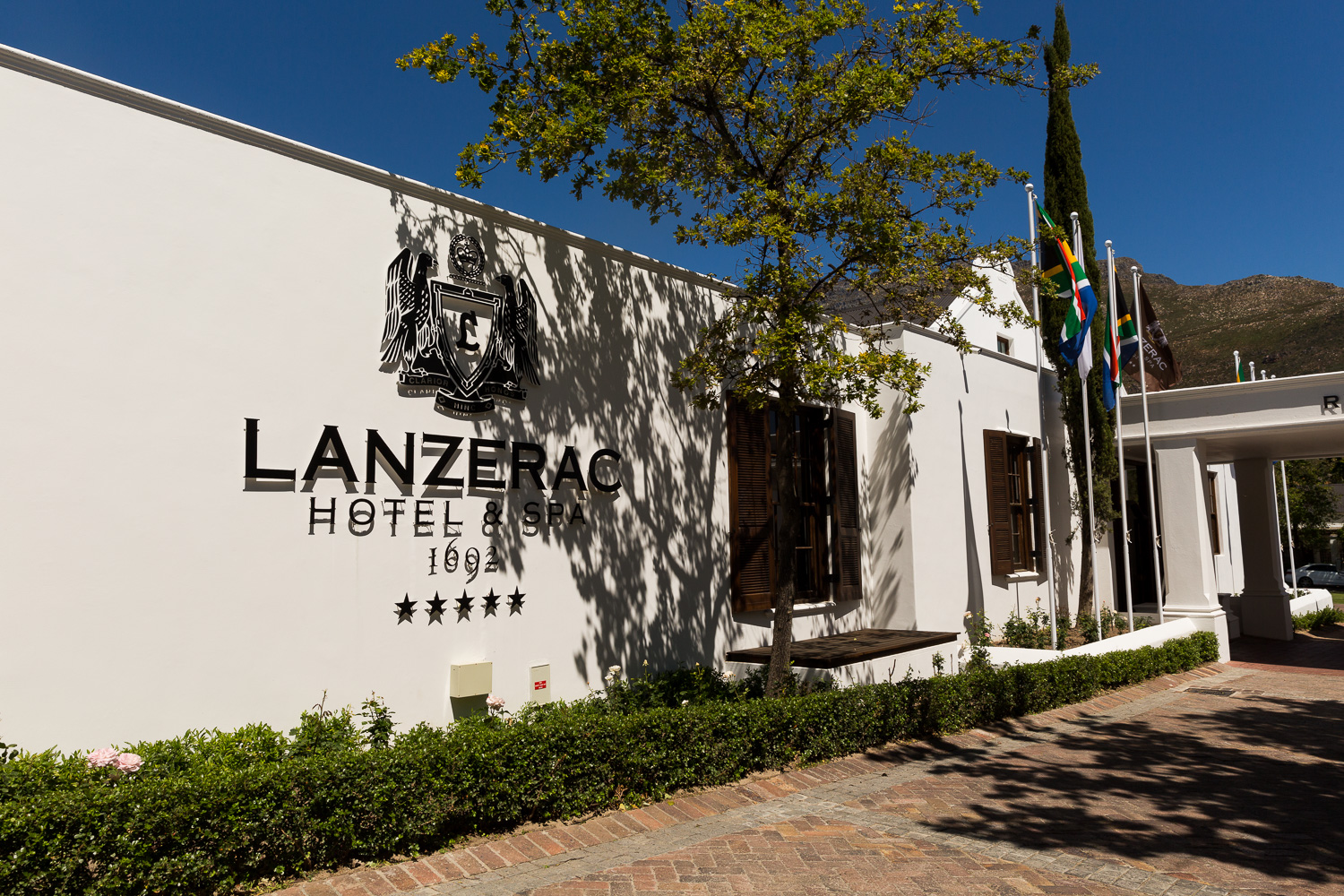 A night at Lanzerac Wine Estate
