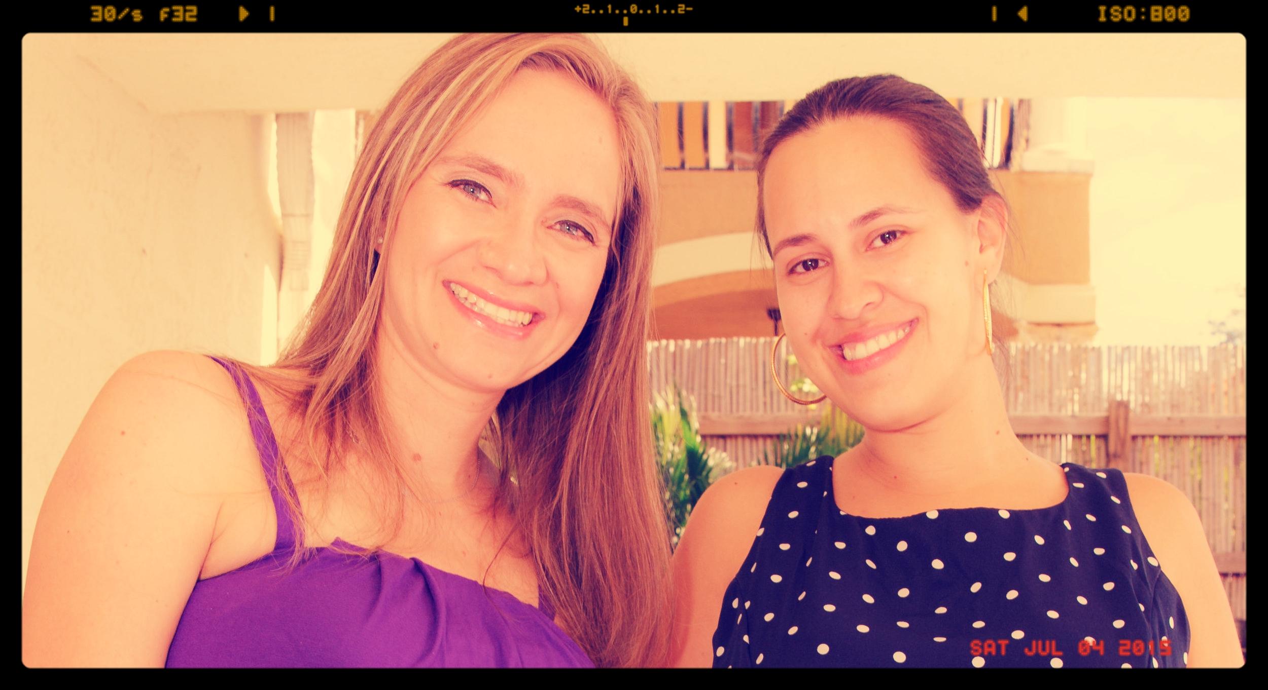 Sisters Carolina and Julie