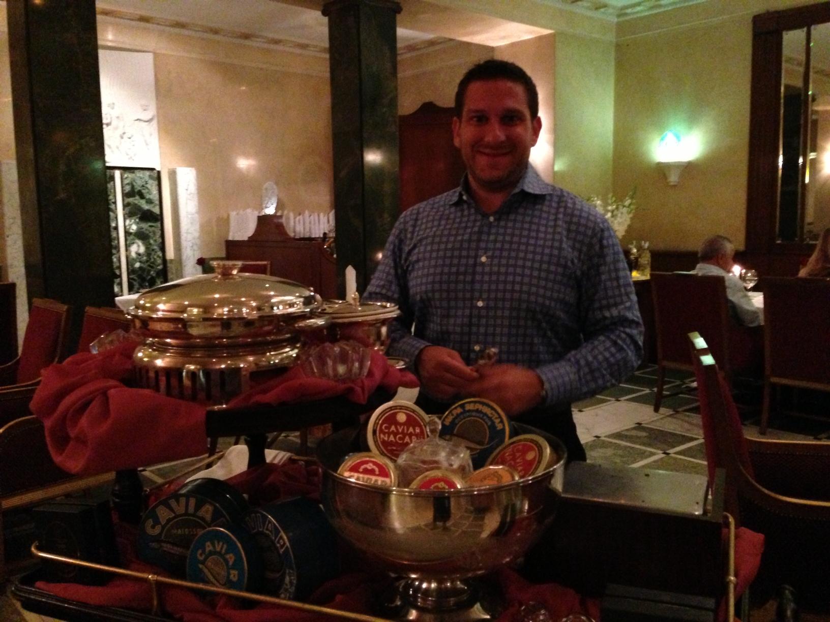 Michael Ferraro_Gueridon caviar @ Caviar Bar_St. Petersburg (2).JPG